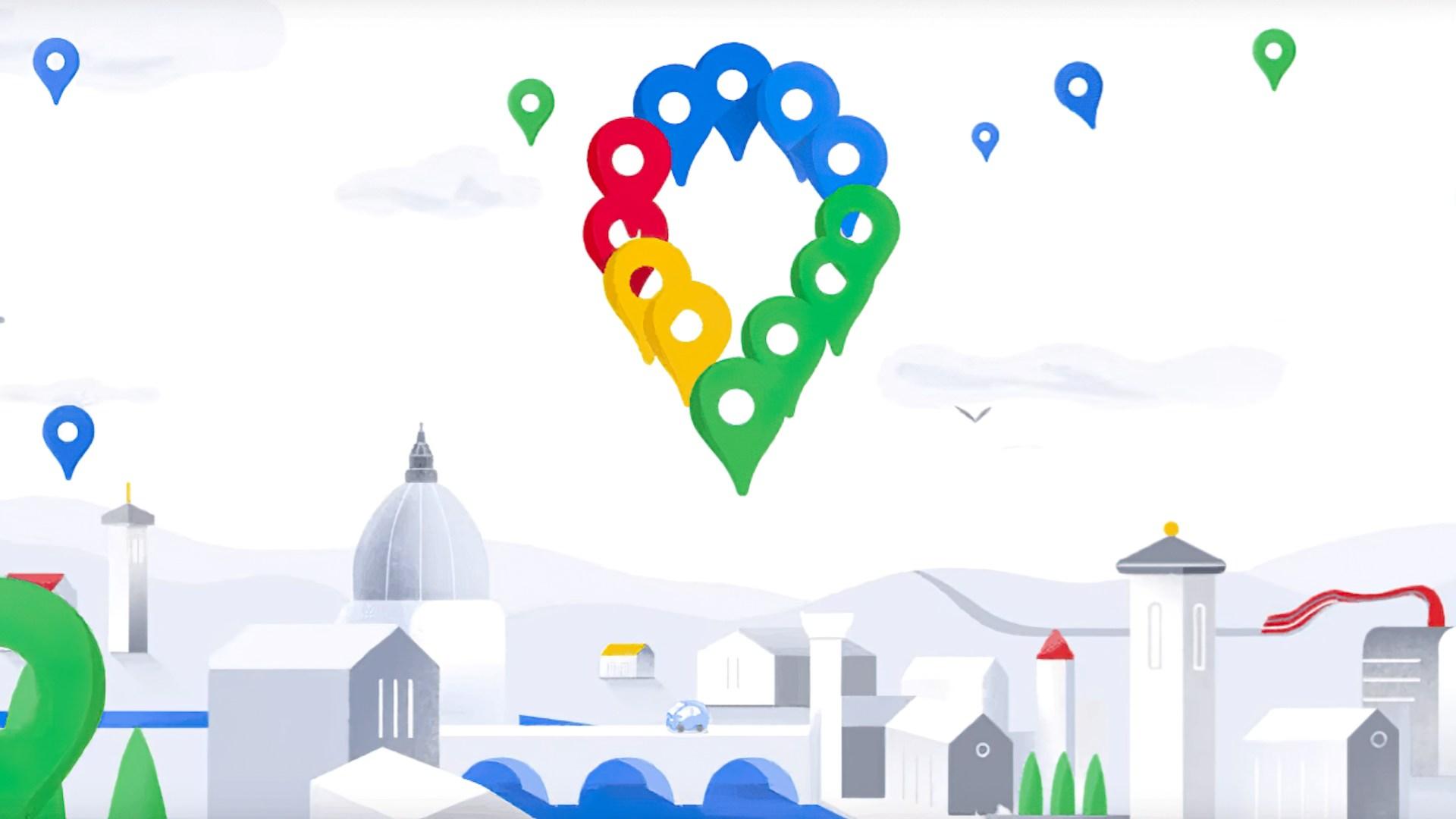 Google, Maps, Google Maps, Kartendienst, Neudesign
