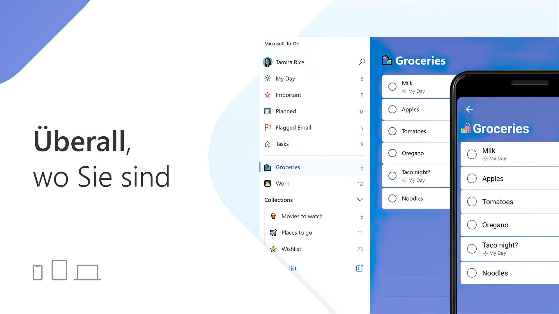 Microsoft, Aufgaben, To-Do, Microsoft To-Do