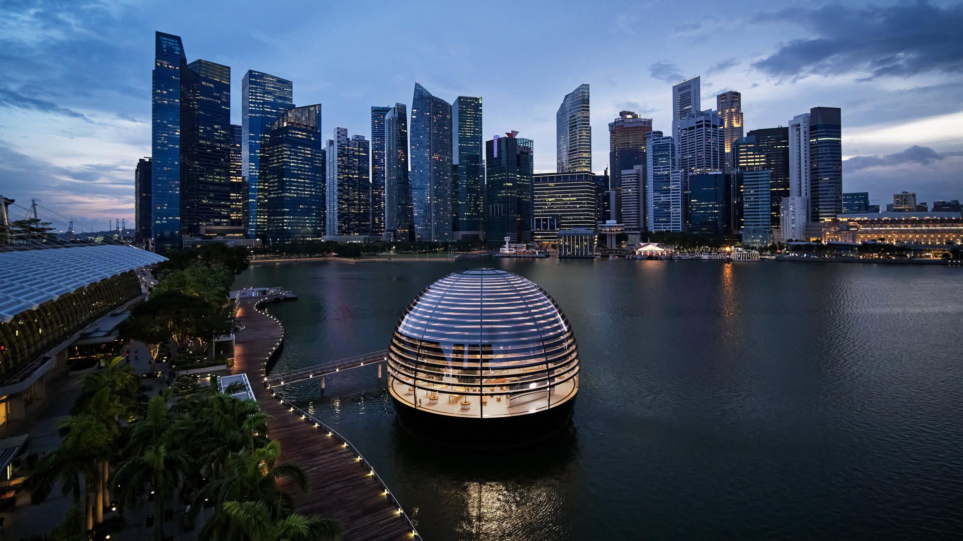 Apple, Apple Store, Singapur, Apple Marina Bay Sands
