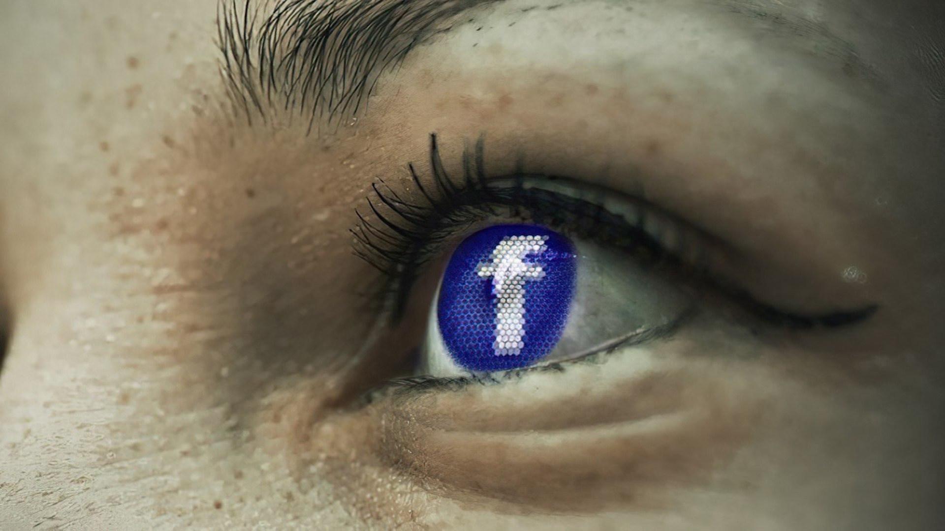 Facebook, Auge, Facebook-Logo