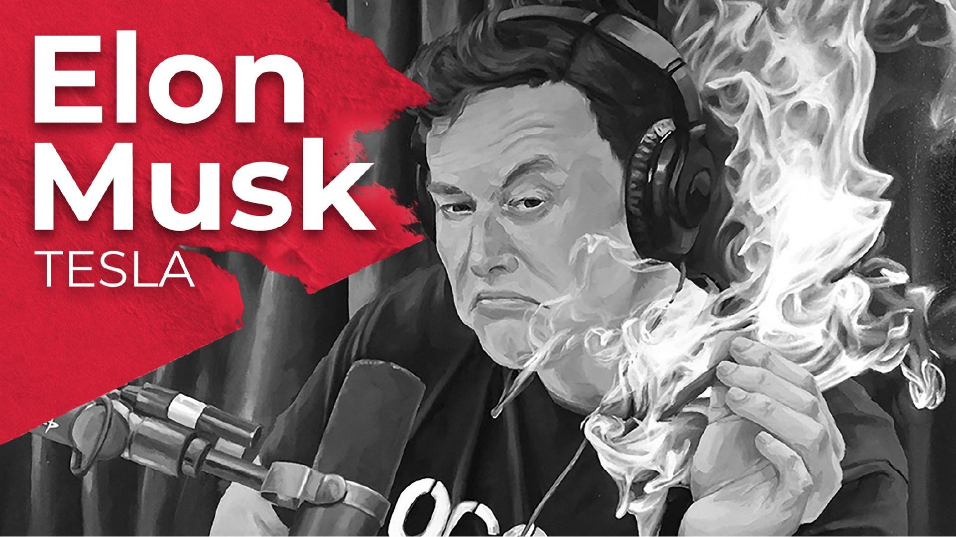 tesla, Elon Musk, Tesla Motors, Musk, Cannabis, Joint, Bad Elon, Kiffen, Kiffer, Marijuana