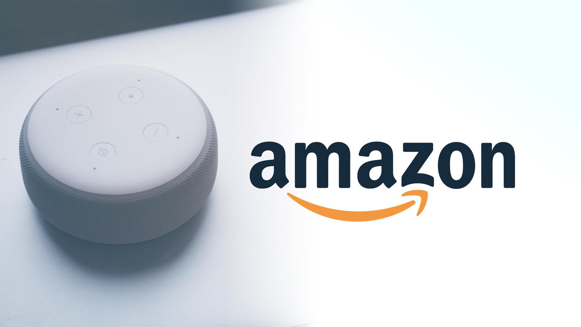 Amazon, Sprachassistent, Lautsprecher, Spracherkennung, Alexa, Amazon Echo, Echo, Amazon Logo, Echo Dot, Amazon Echo Dot