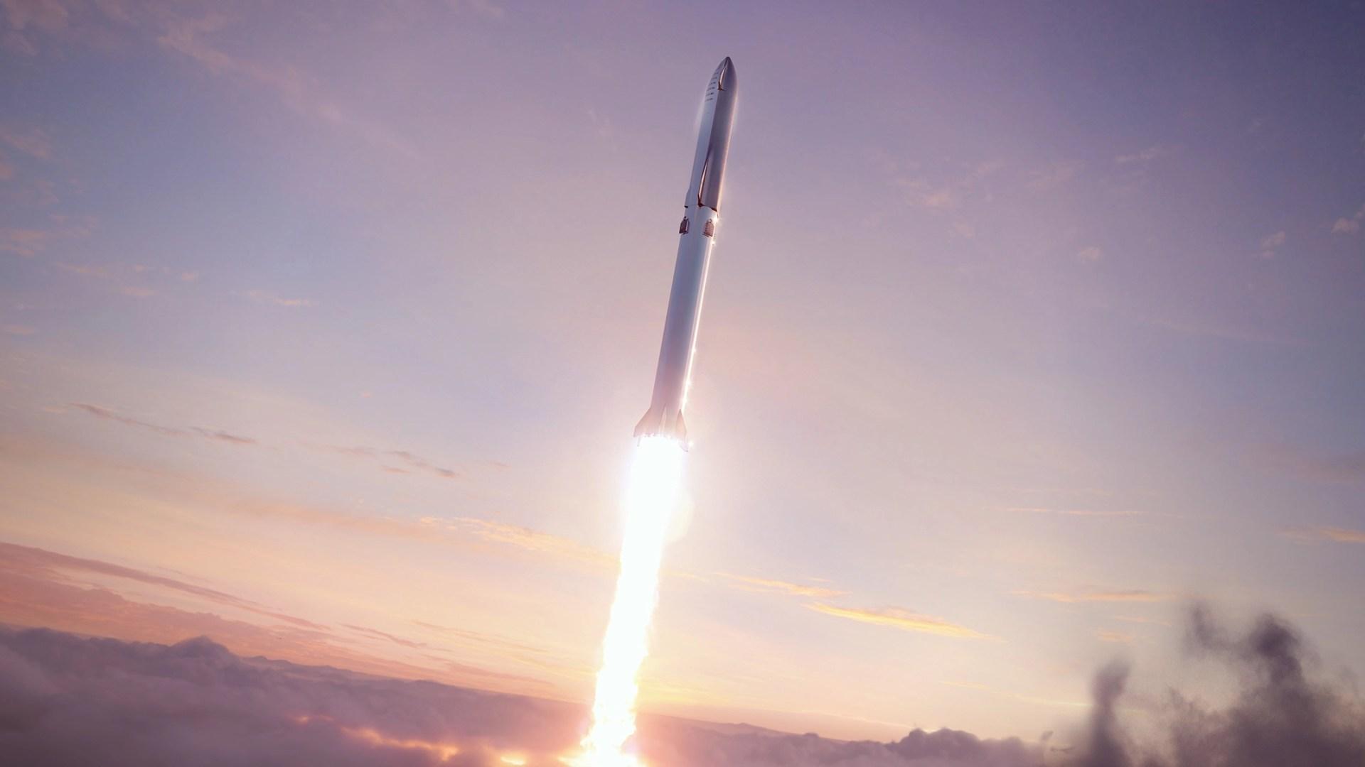 Raumfahrt, Spacex, Start, Raumschiff, Spaceship