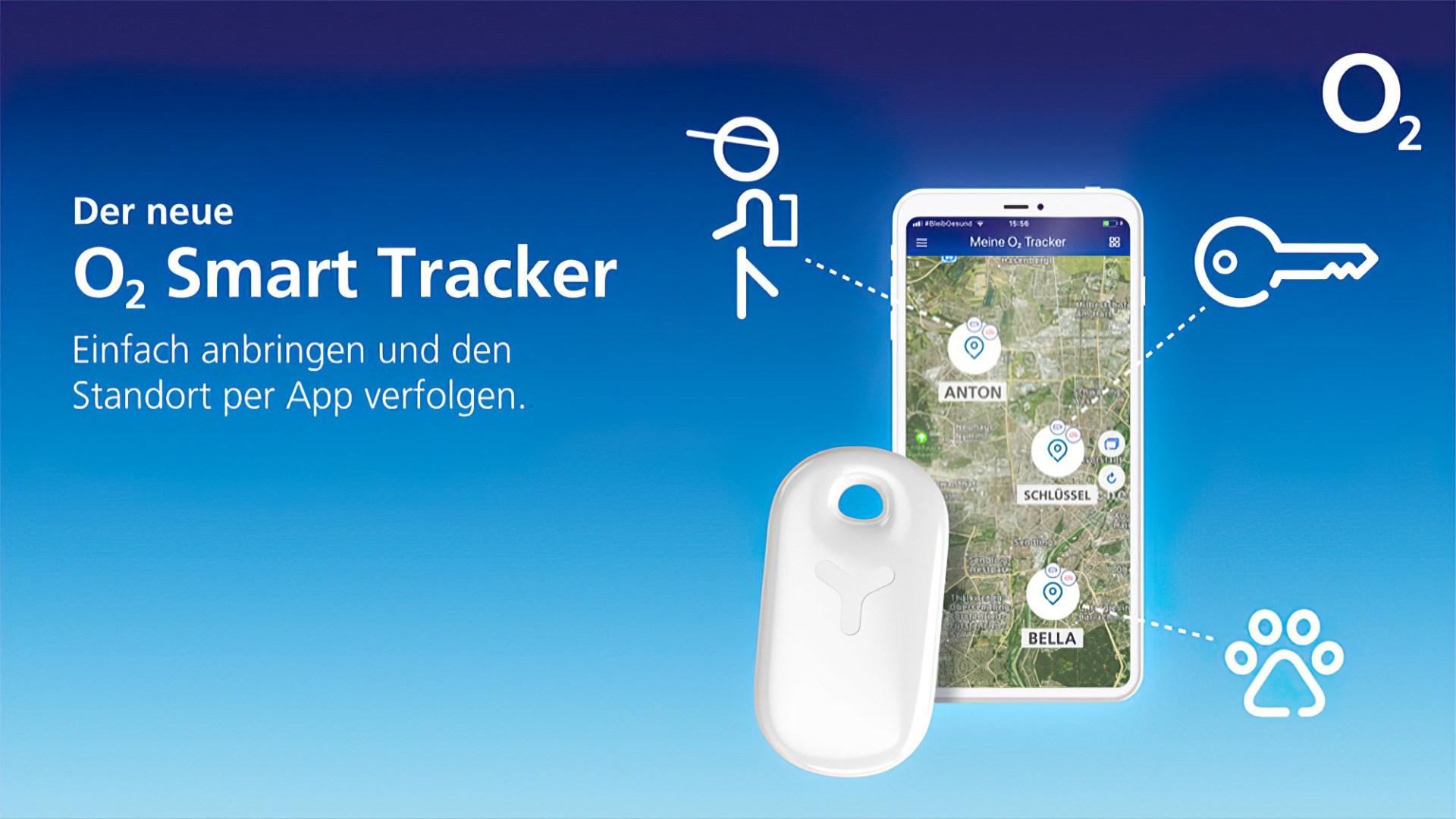 O2, Tracking, Gps, Standort, Smart Tracker