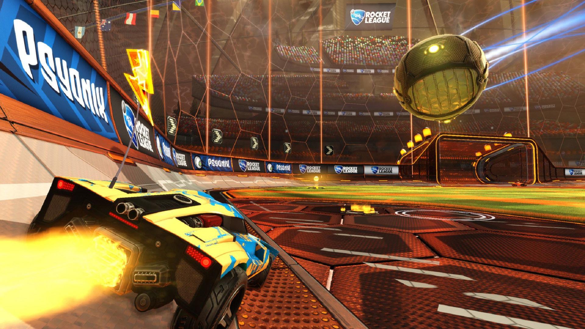 Xbox One, Spiel, Steam, Rocket League
