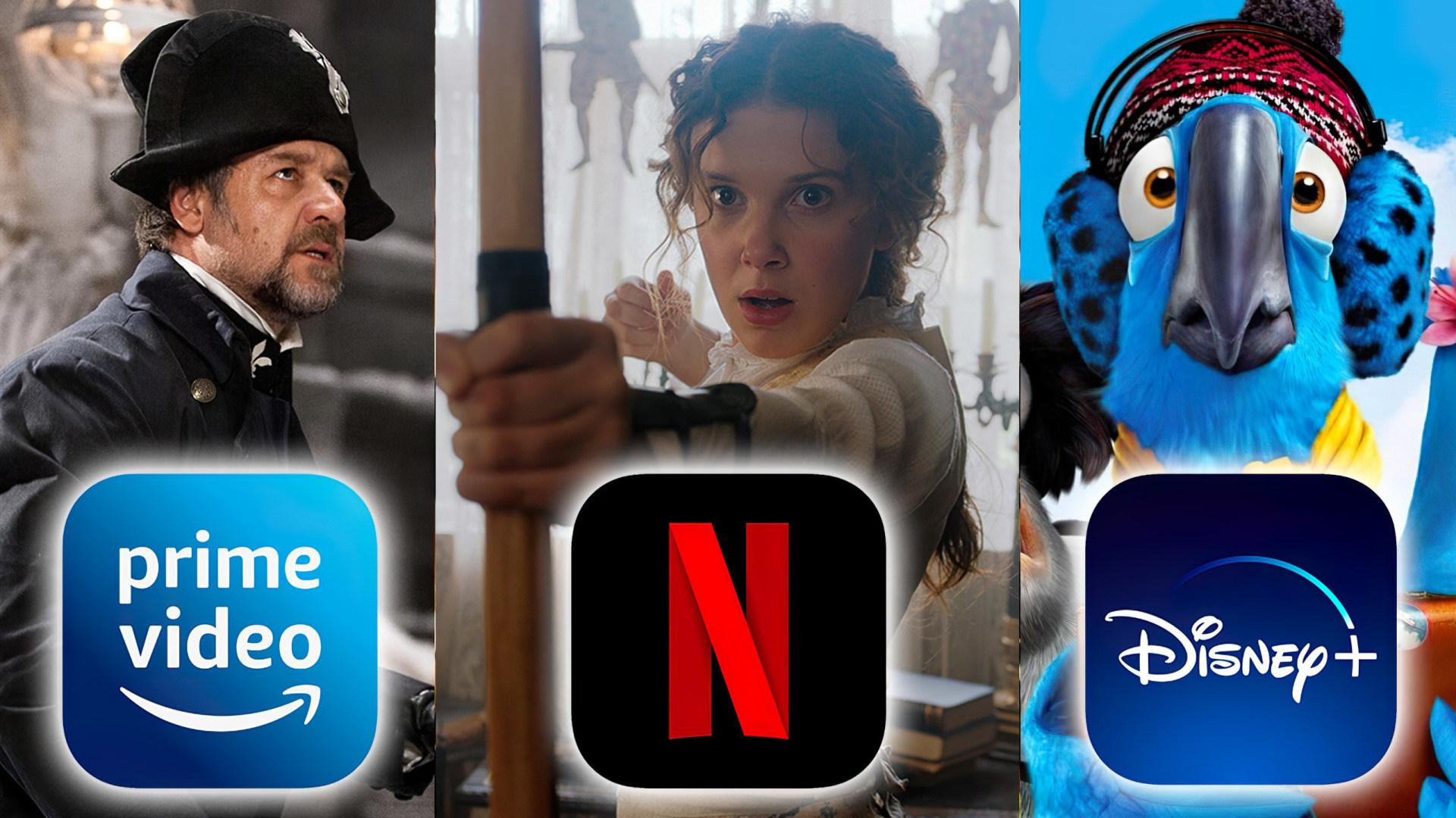 Streaming, Netflix, Filme, Serien, Amazon Prime Video, Disney+