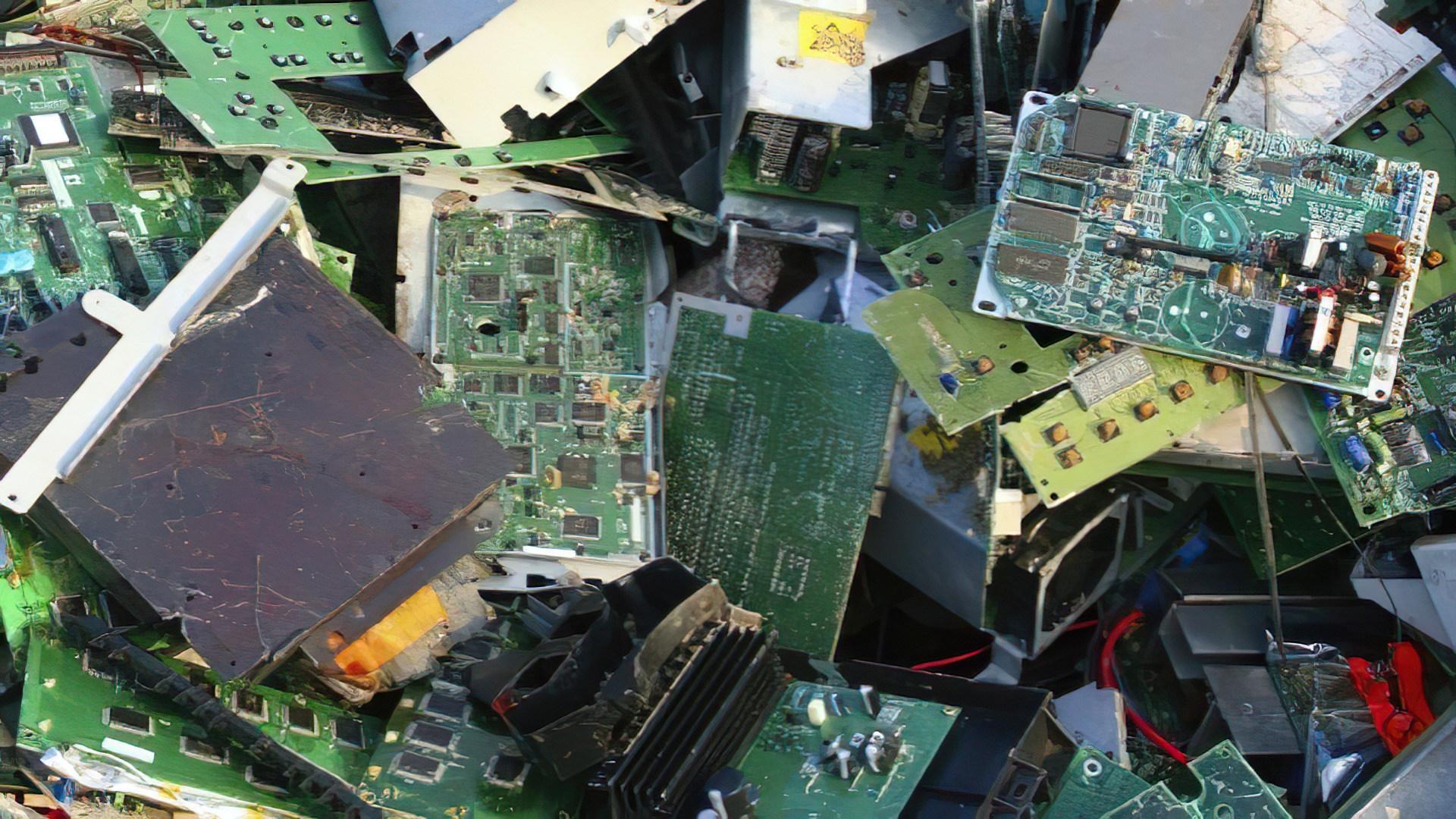 Recycling, Elektroschrott, Platinen