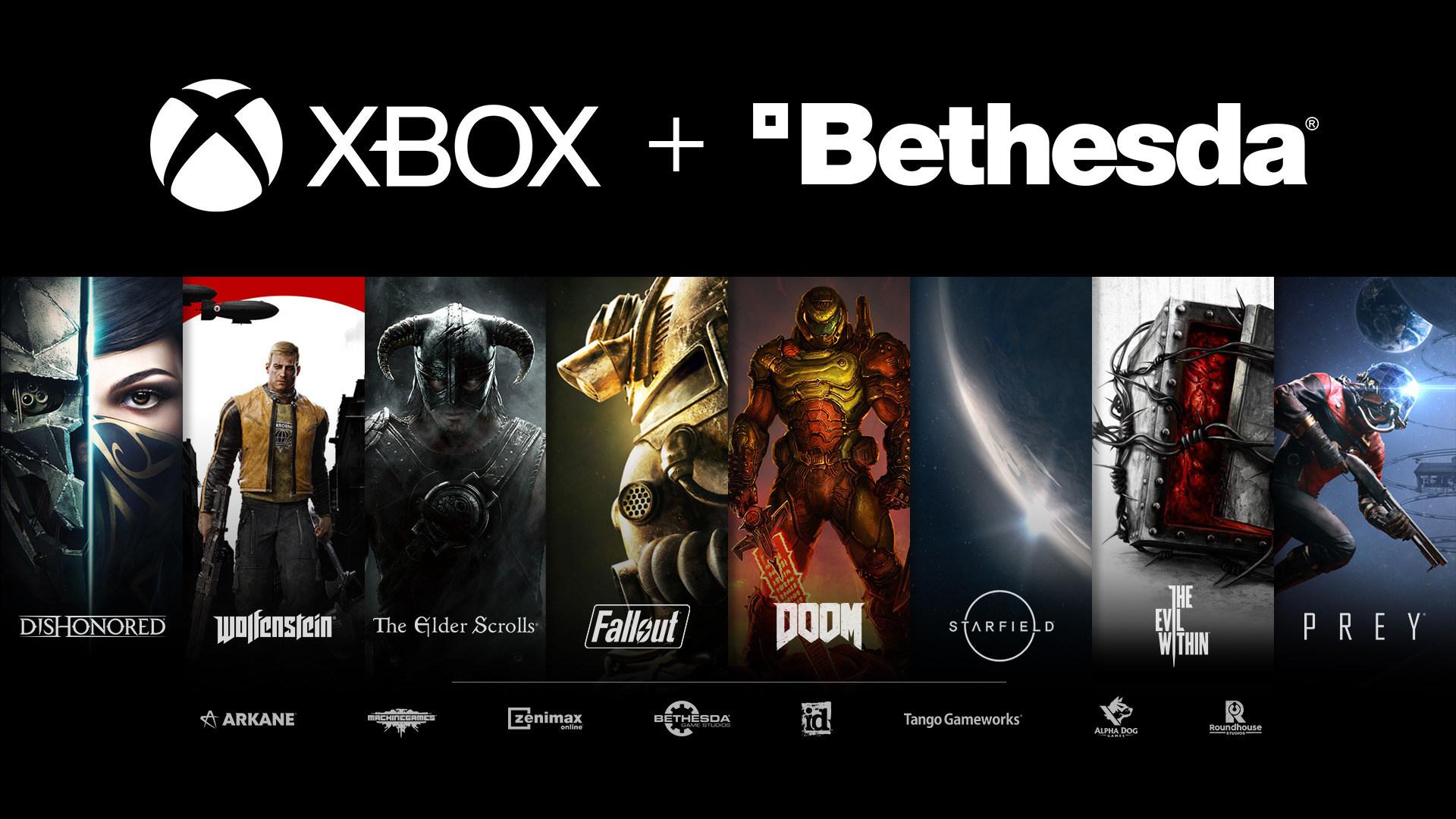 Microsoft, Xbox, übernahme, Bethesda, Doom, Fallout, Quake, Zenimax