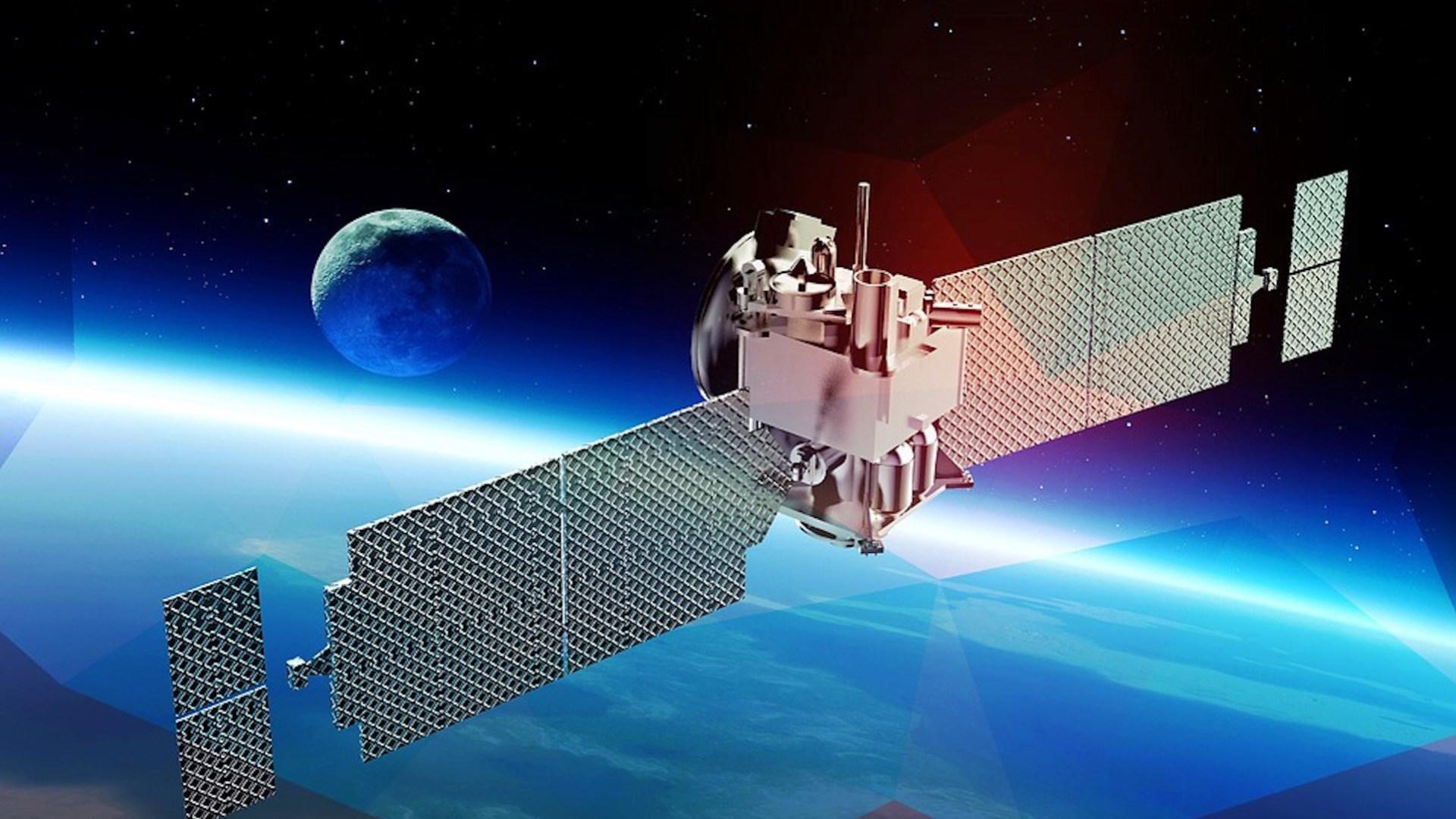 Weltraum, Satellit, Mond, Satelliten, Erde