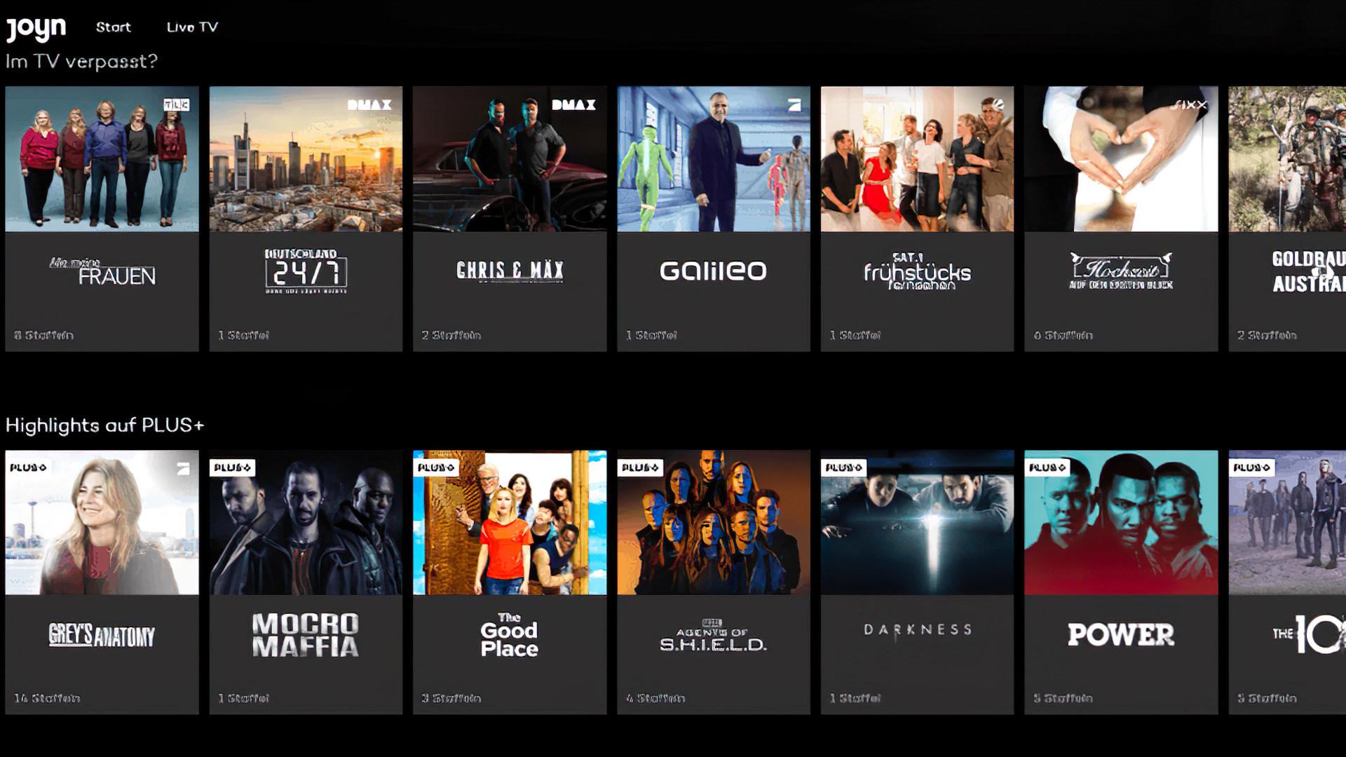 Streaming, Streamingportal, ProSiebenSat.1, Joyn, Joyn Plus+