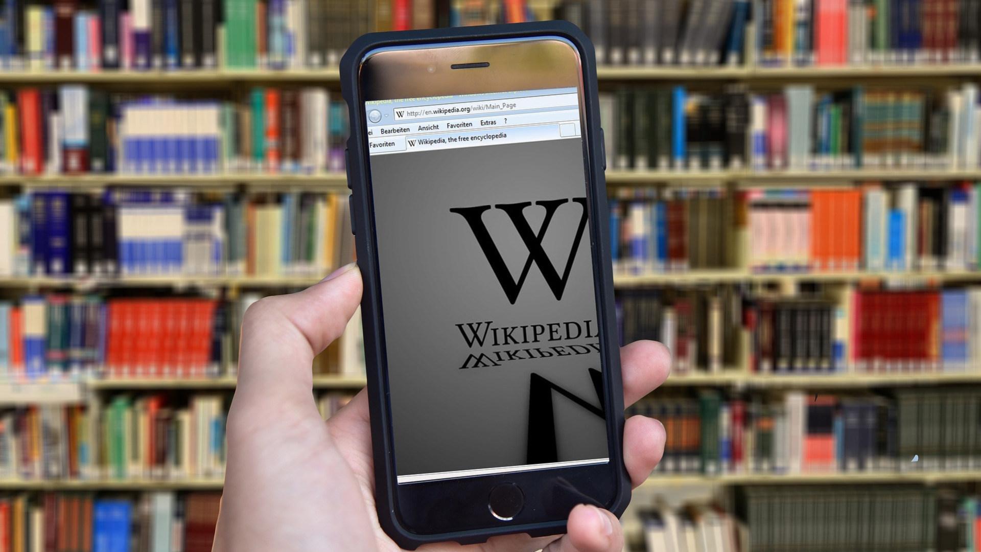 App, Wikipedia, Online-Enzyklopädie, Enzyklopädie, Wiki