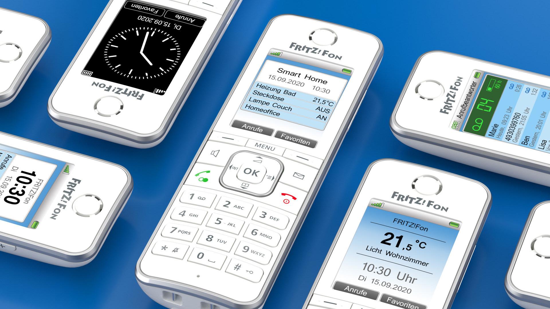 Avm, FritzOS, Telefon, FritzFon, Dect, C6, DECT-Fon