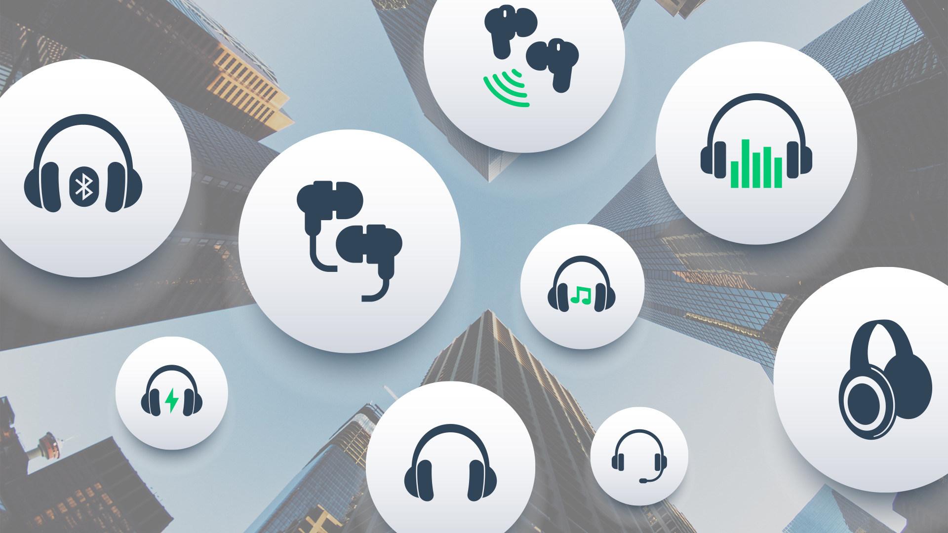 Headset, Kopfhörer, Bluetooth, Drahtlos, Wireless, kabellos, Funk, Bluetooth-Kopfhörer, In-Ear-Kopfhörer, Network, Verbindung, Bluetooth 4.0, Bluetooth 5.0, Bluetooth Low Energy, Bluetooth Anmeldung, Connection, Pairing, Funkverbindung, Bluetooth Logo, Blauzahn, Bluetooth Verbindung
