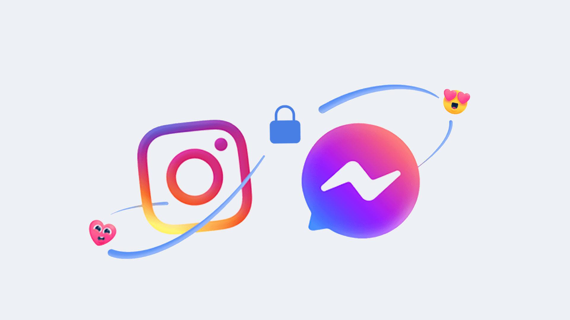 Facebook, Messenger, Chat, Instagram, Zusammenlegung