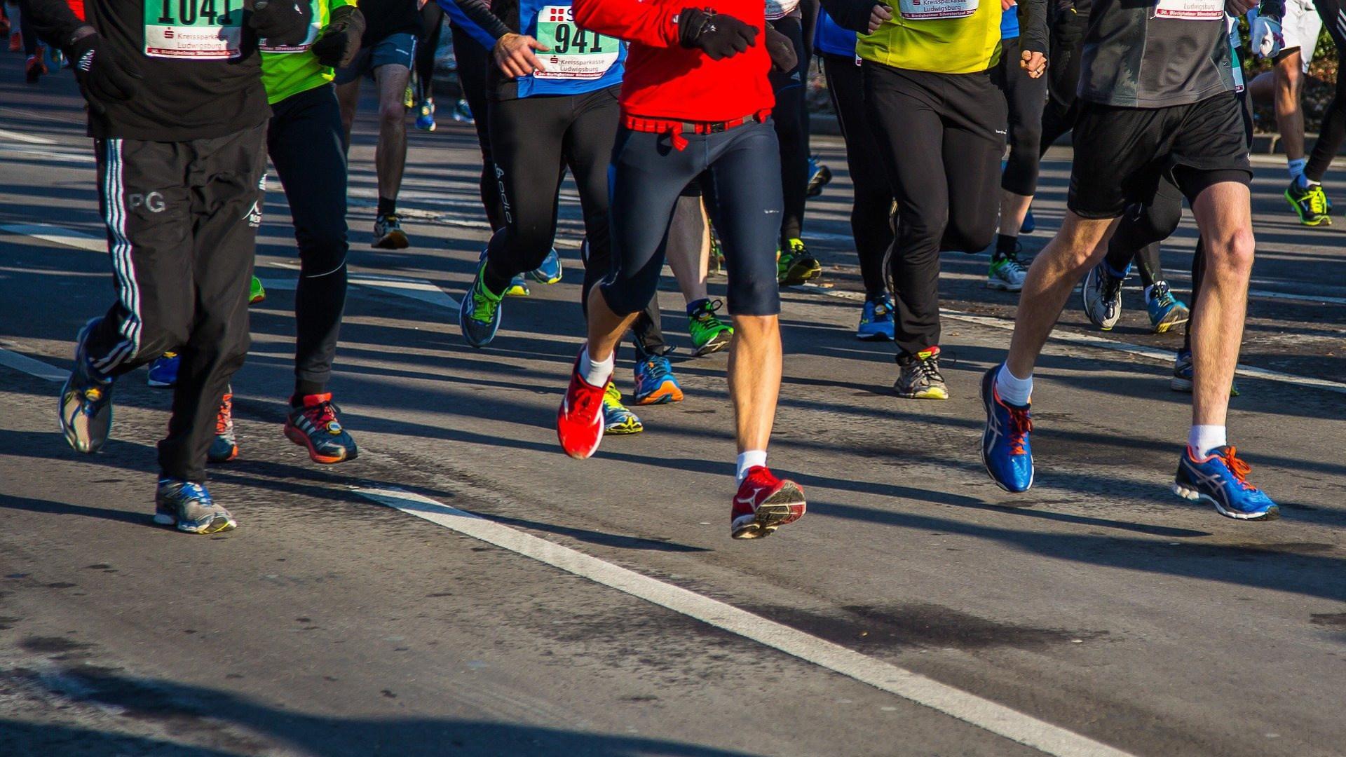 Sport, Laufen, Marathon, Läufer