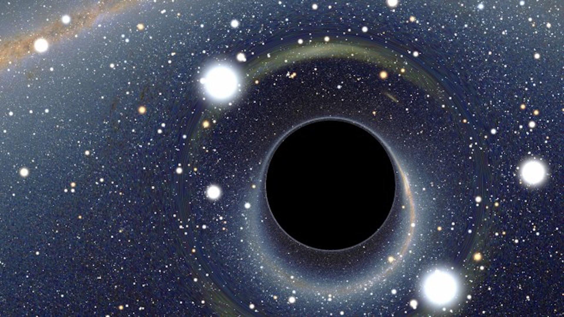 Weltraum, Sterne, Schwarzes Loch, blackhole