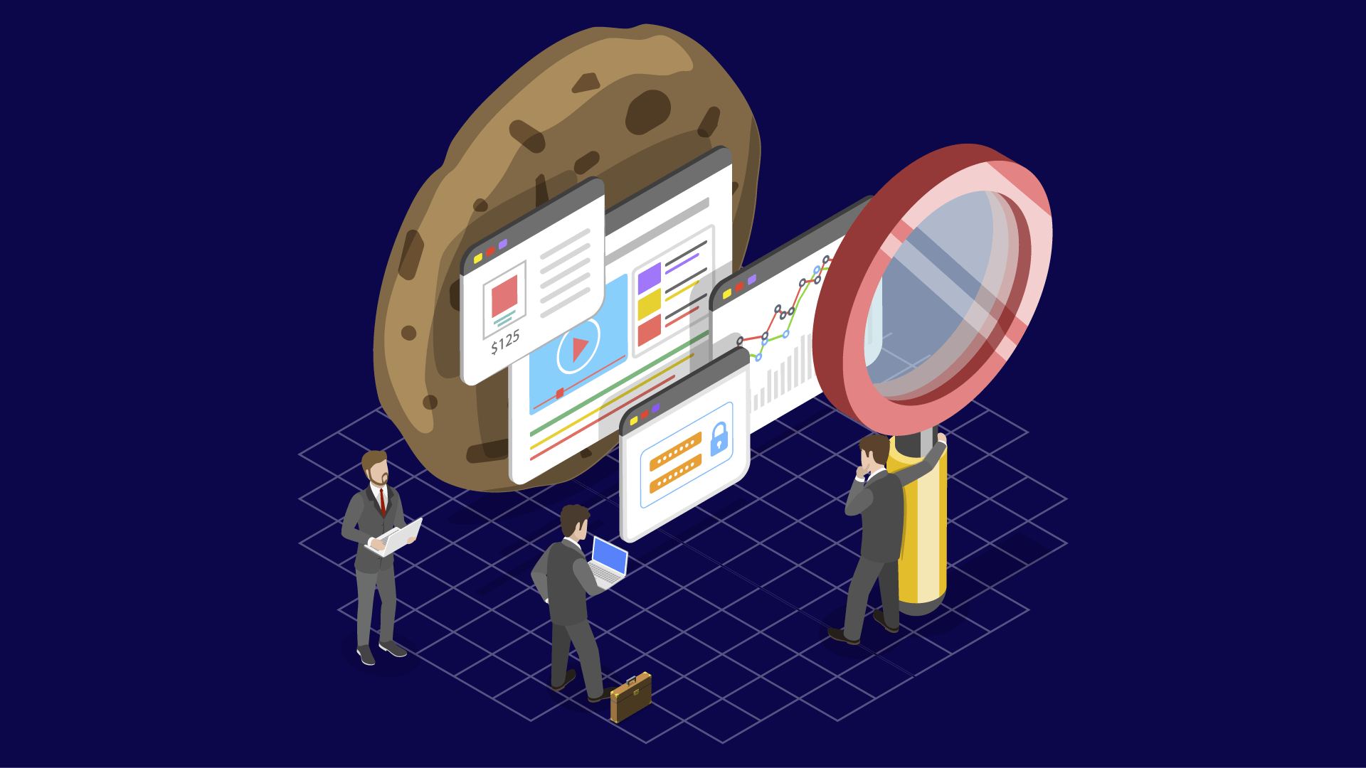Browser, Datenschutz, Privatsphäre, Datenübertragung, DSGVO, Cookies, Cookie, Datenverarbeitung, Token, Cookie-Dialog, super-cookie, Keks, Flash-Cookies, GDPR, Trust Tokens, Cookie Banner, Cookie Auswahl, Cookie Verarbeitung, Lupe