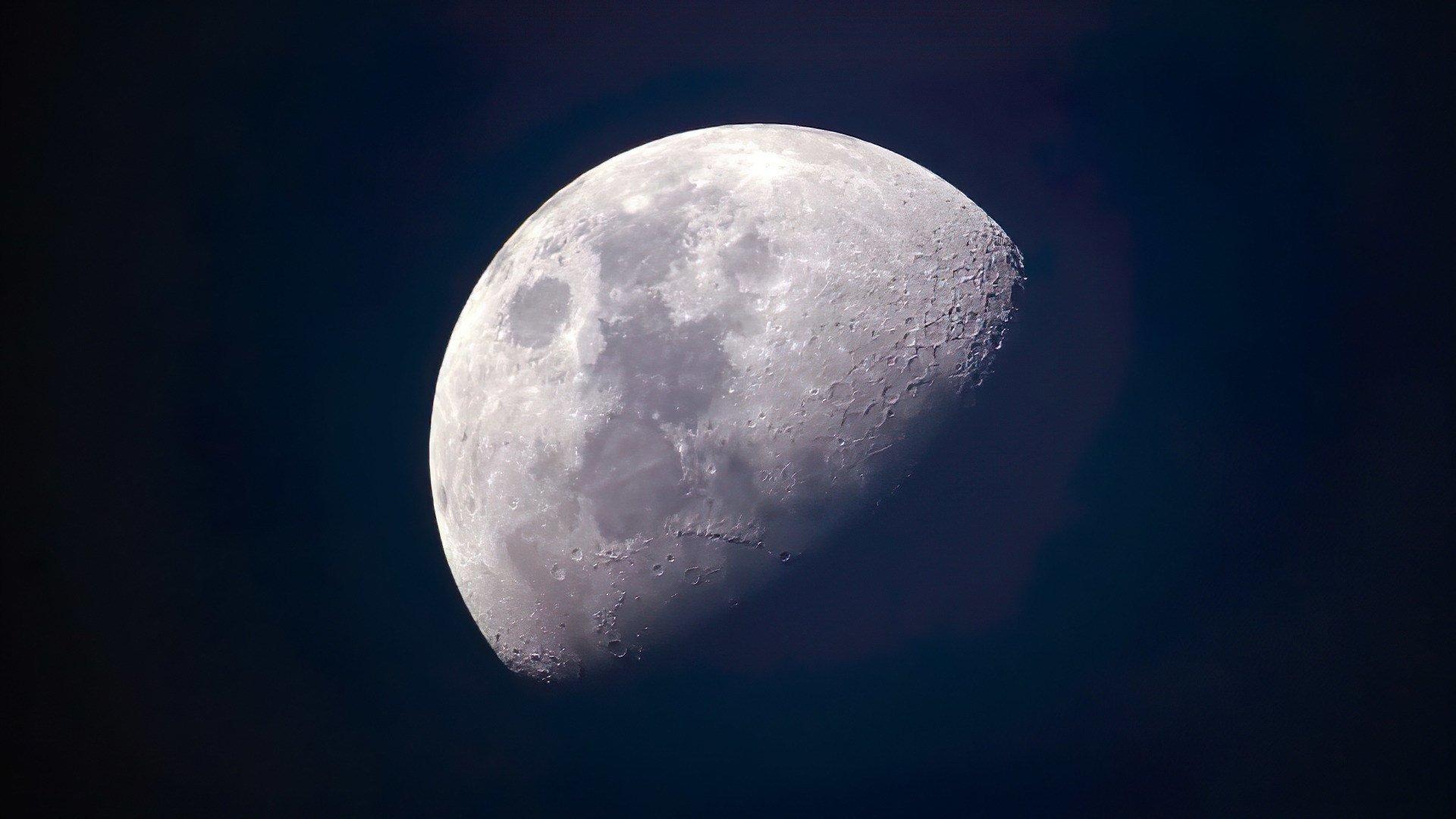 Wissenschaft, Mond, Mondlandung, Mondmission