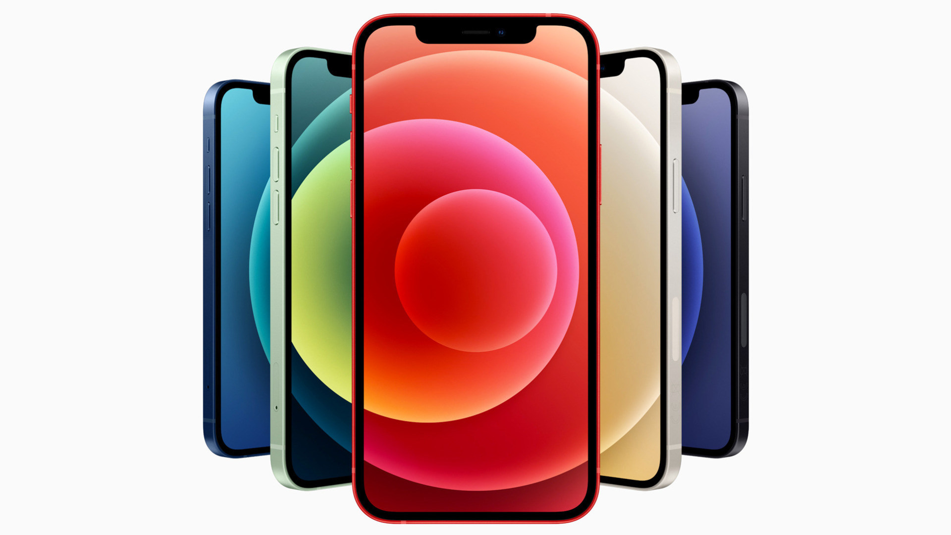 Apple, Smartphones, iPhone 12, iOS 14, Farben
