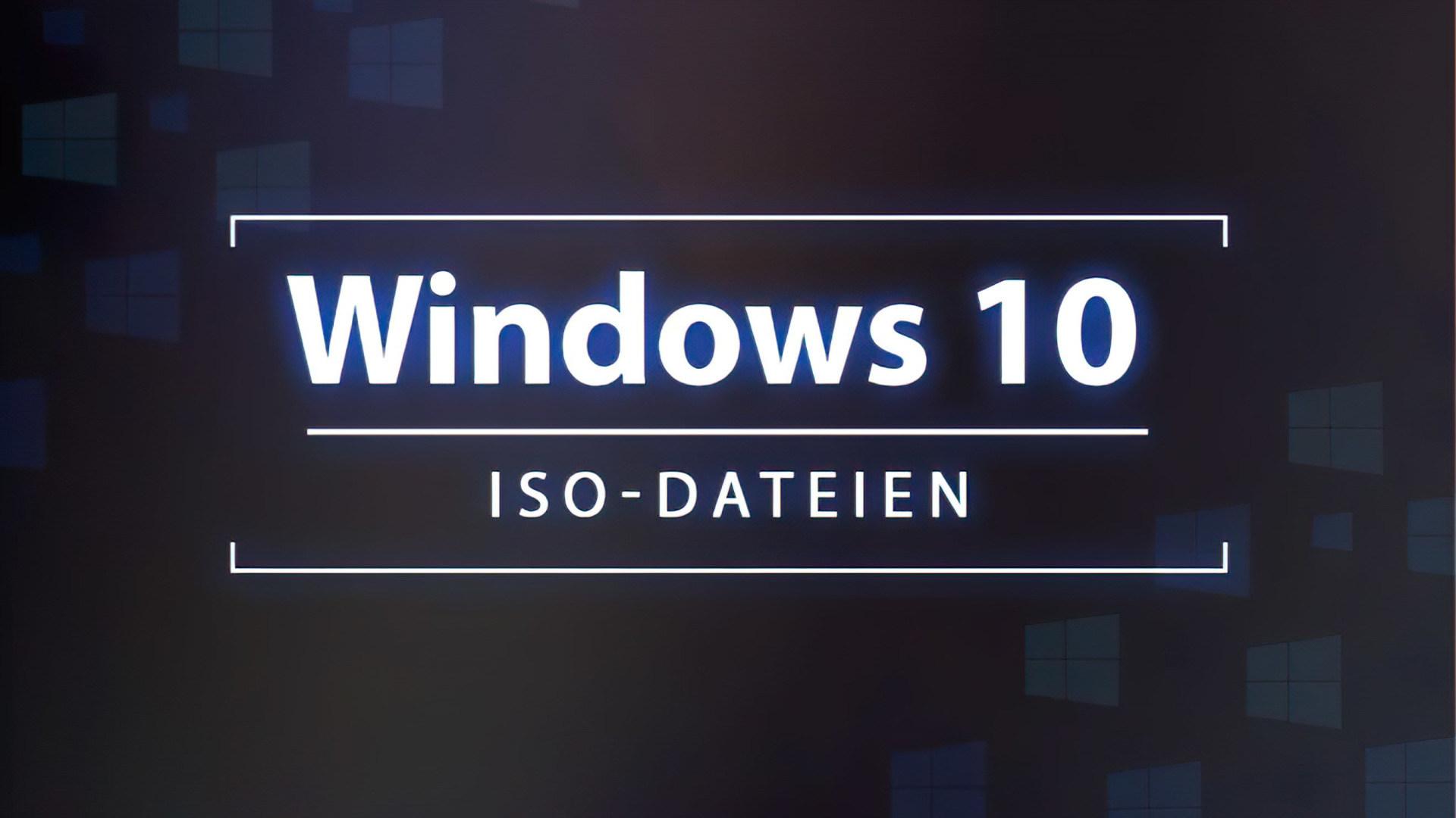 Microsoft, Windows 10, Iso