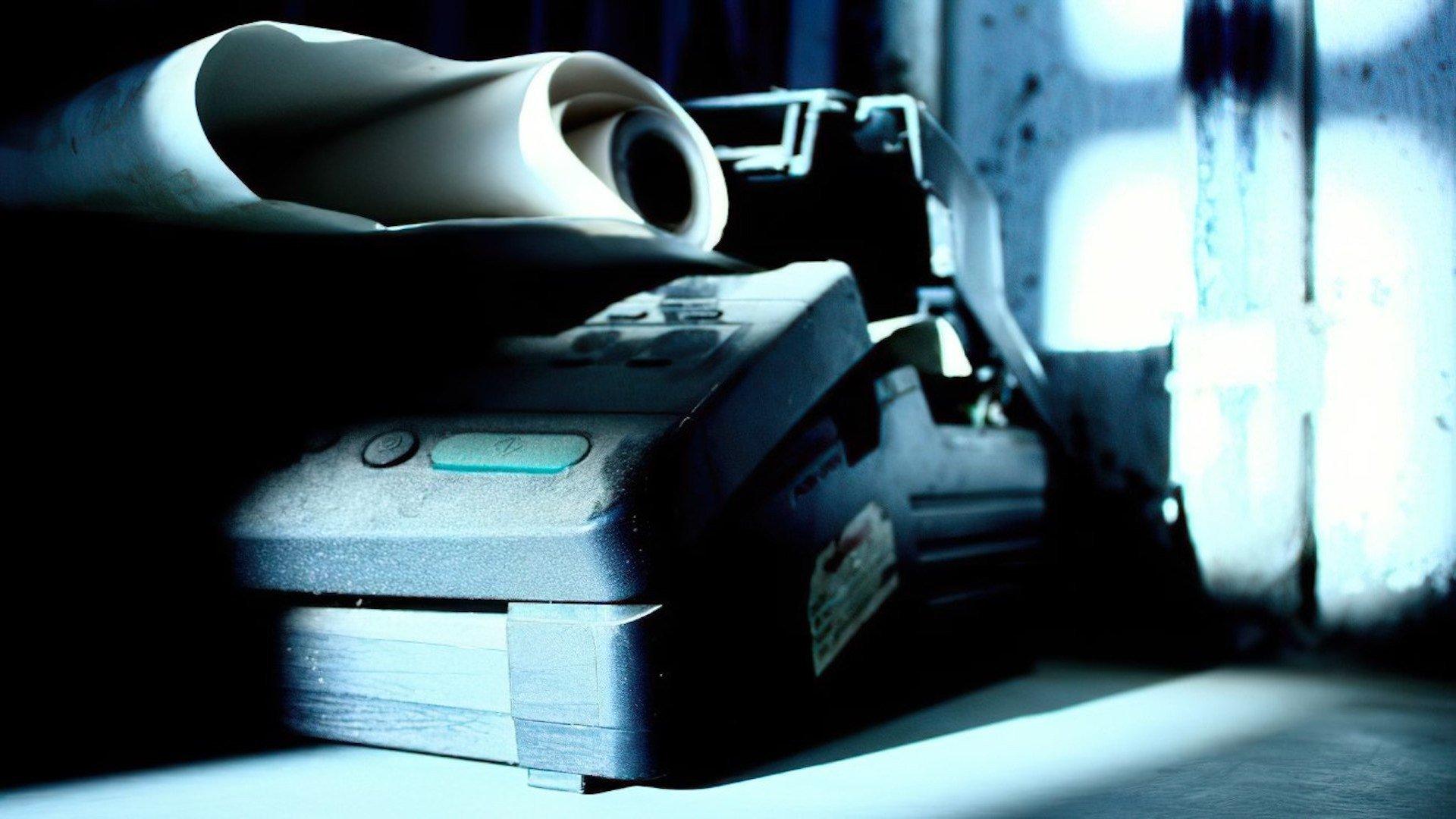 Kommunikation, Papier, Fax