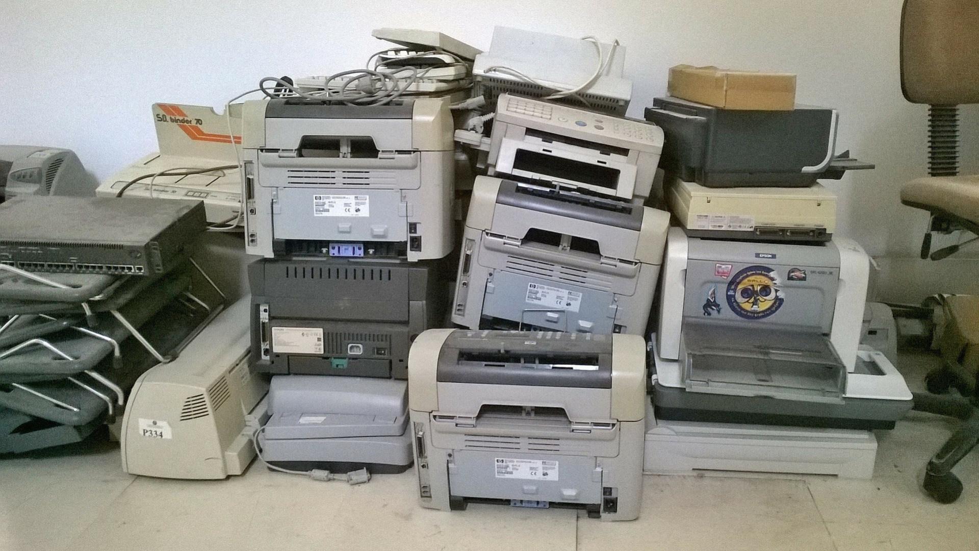 Drucker, Elektroschrott, Laserdrucker