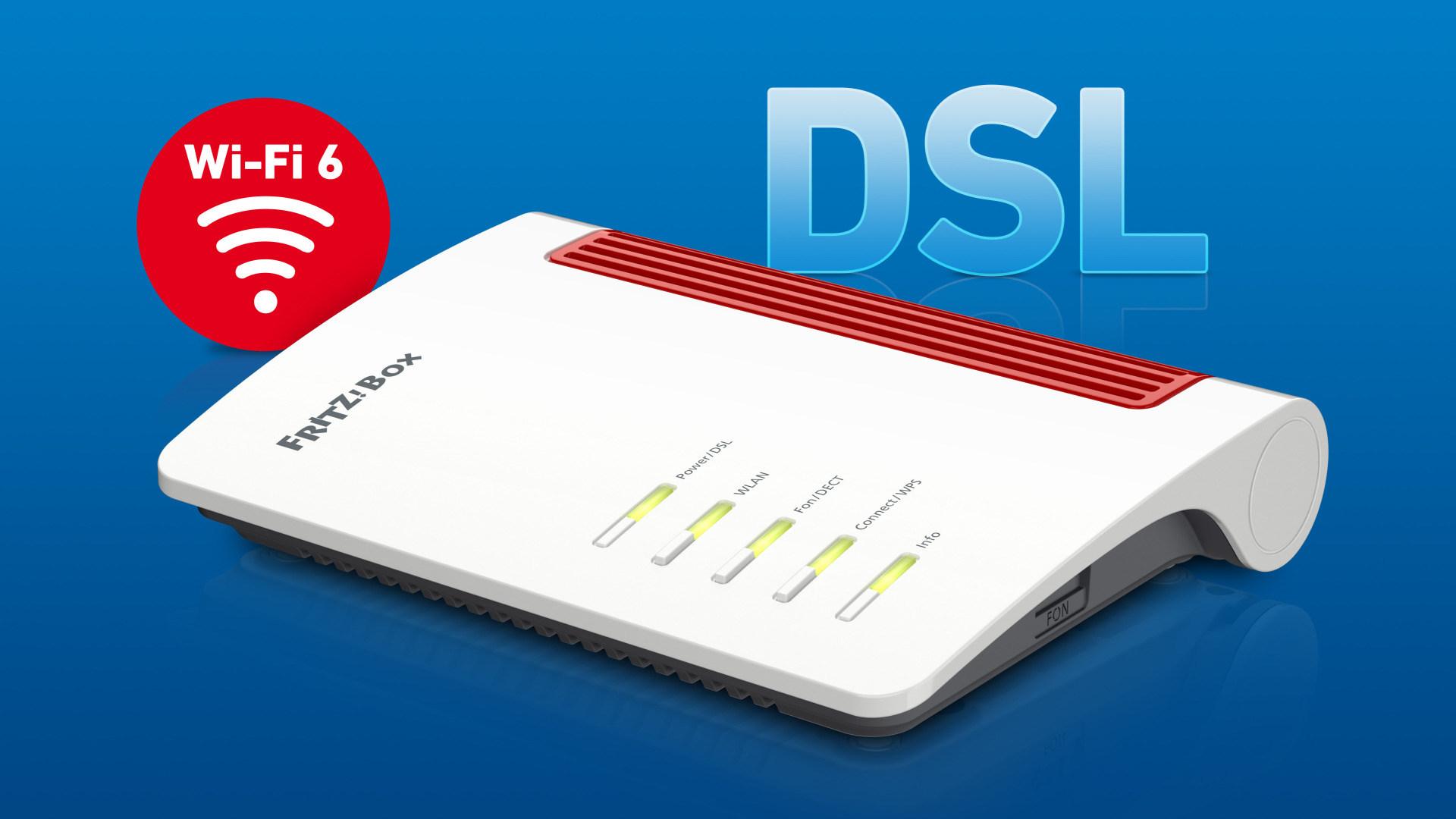 Wlan, Router, Netzwerk, Avm, FritzOS, Dsl, Wi-Fi 6, WLAN-ax, Fritzbox 7530 AX
