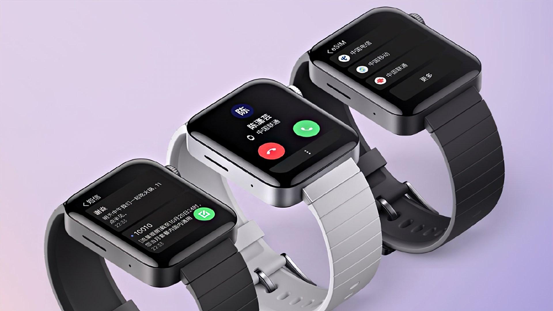 smartwatch, Xiaomi, Uhr, Wearables, Fitness-Tracker, Mi Watch