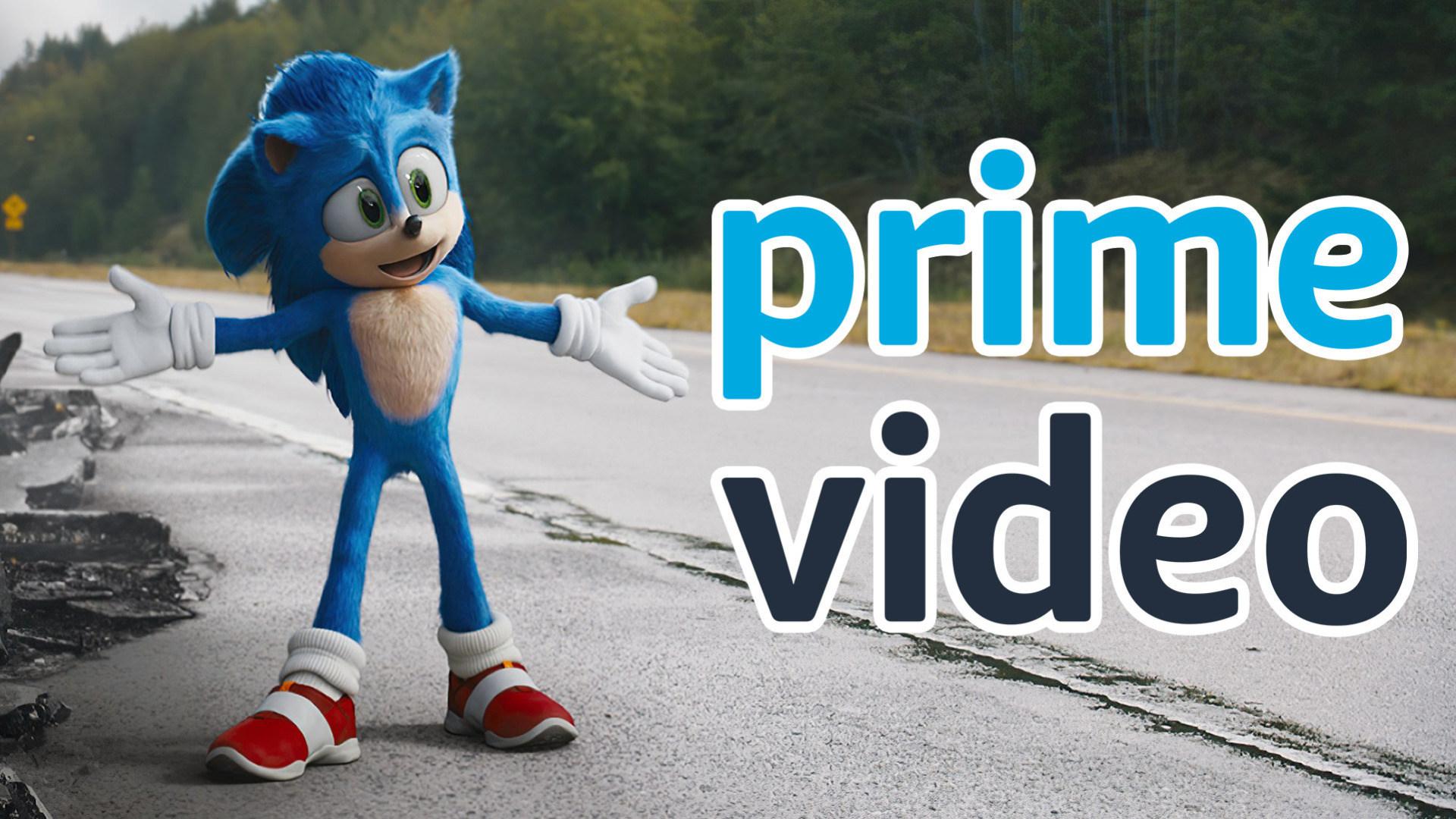 Amazon, Prime Video, November 2020, Sonic The Hedgehog