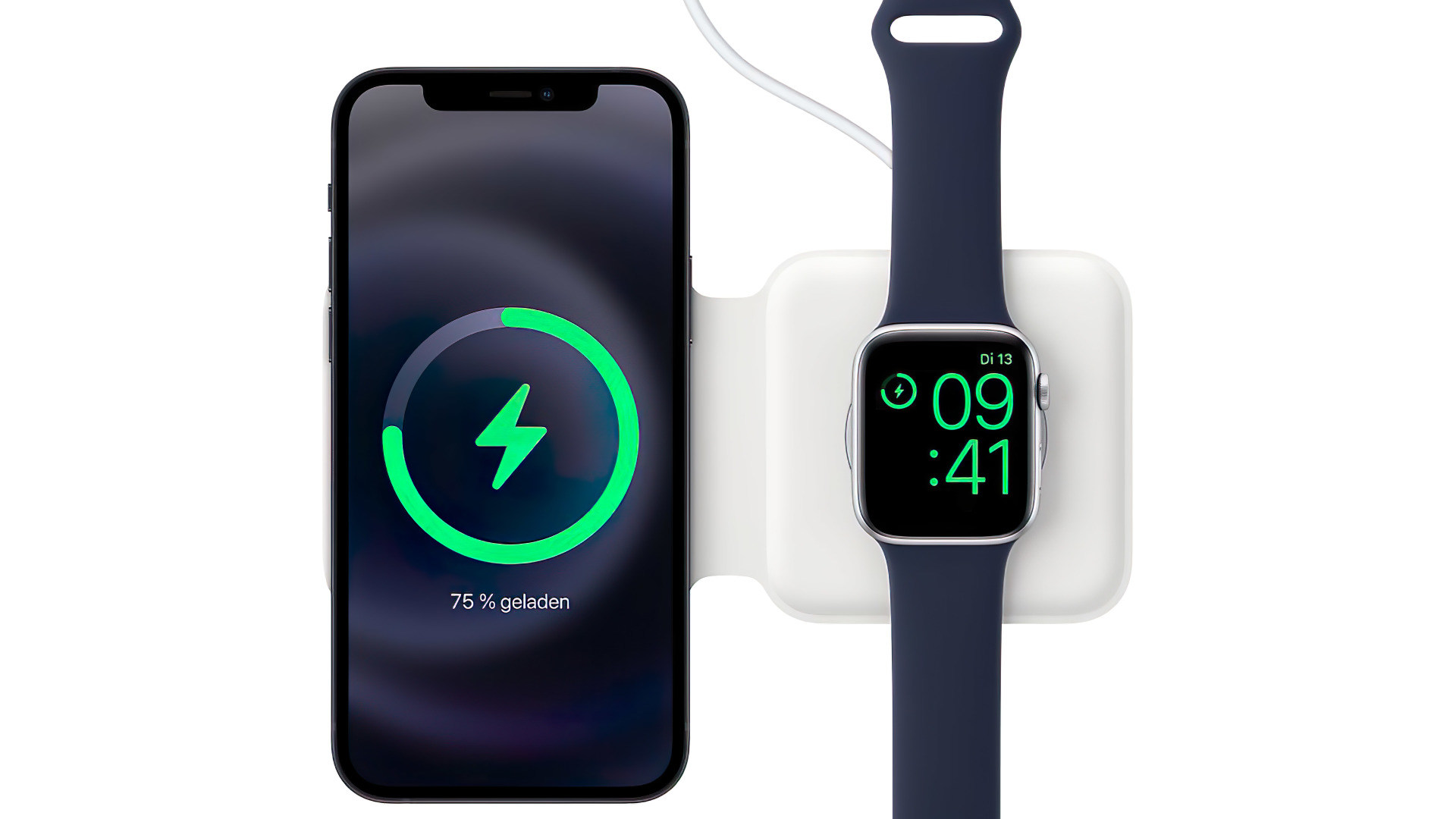 Apple, Iphone, Anschluss, Ladegerät, Netzteil, Ladekabel, MagSafe Duo Ladegerät