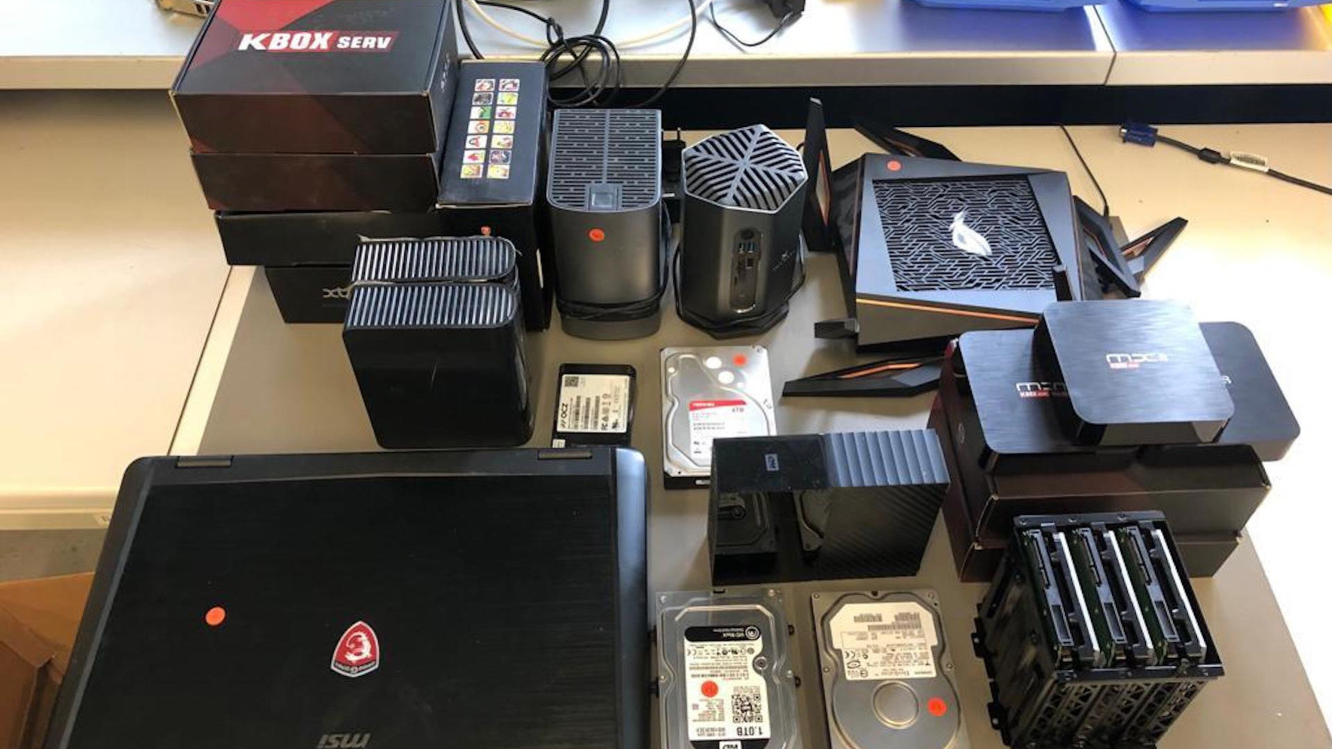Beschlagnahmung, Streaming-Box, KBOX Serv, Beweismittel