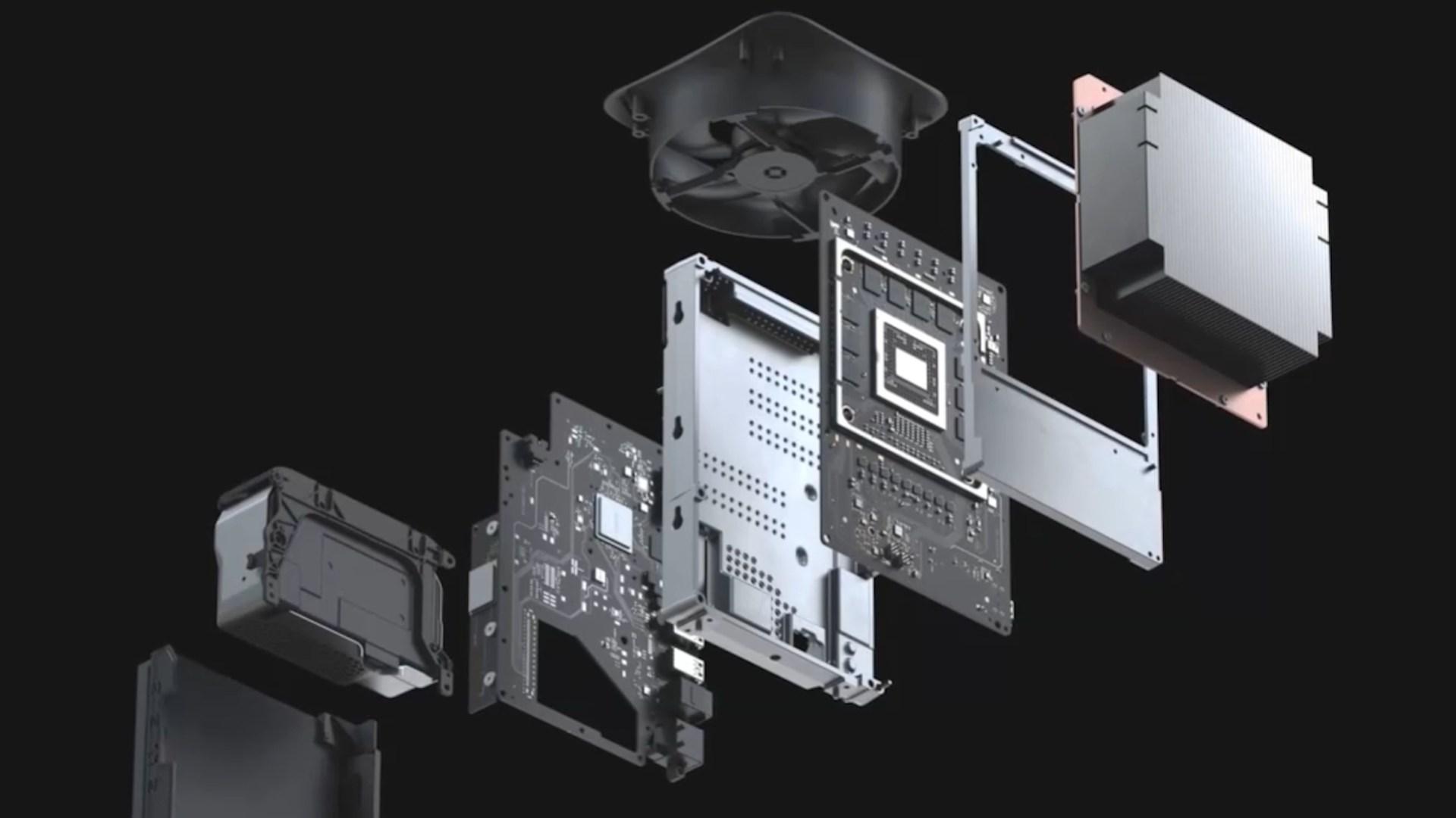 Xbox Series X, Teardown, Reparatur, Innenleben, Zerlegt