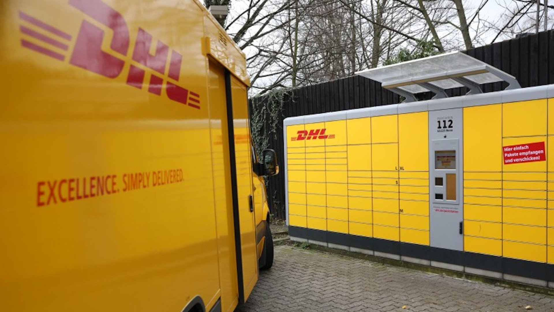 Paket, Post, DHL, Packstation, Paketkasten