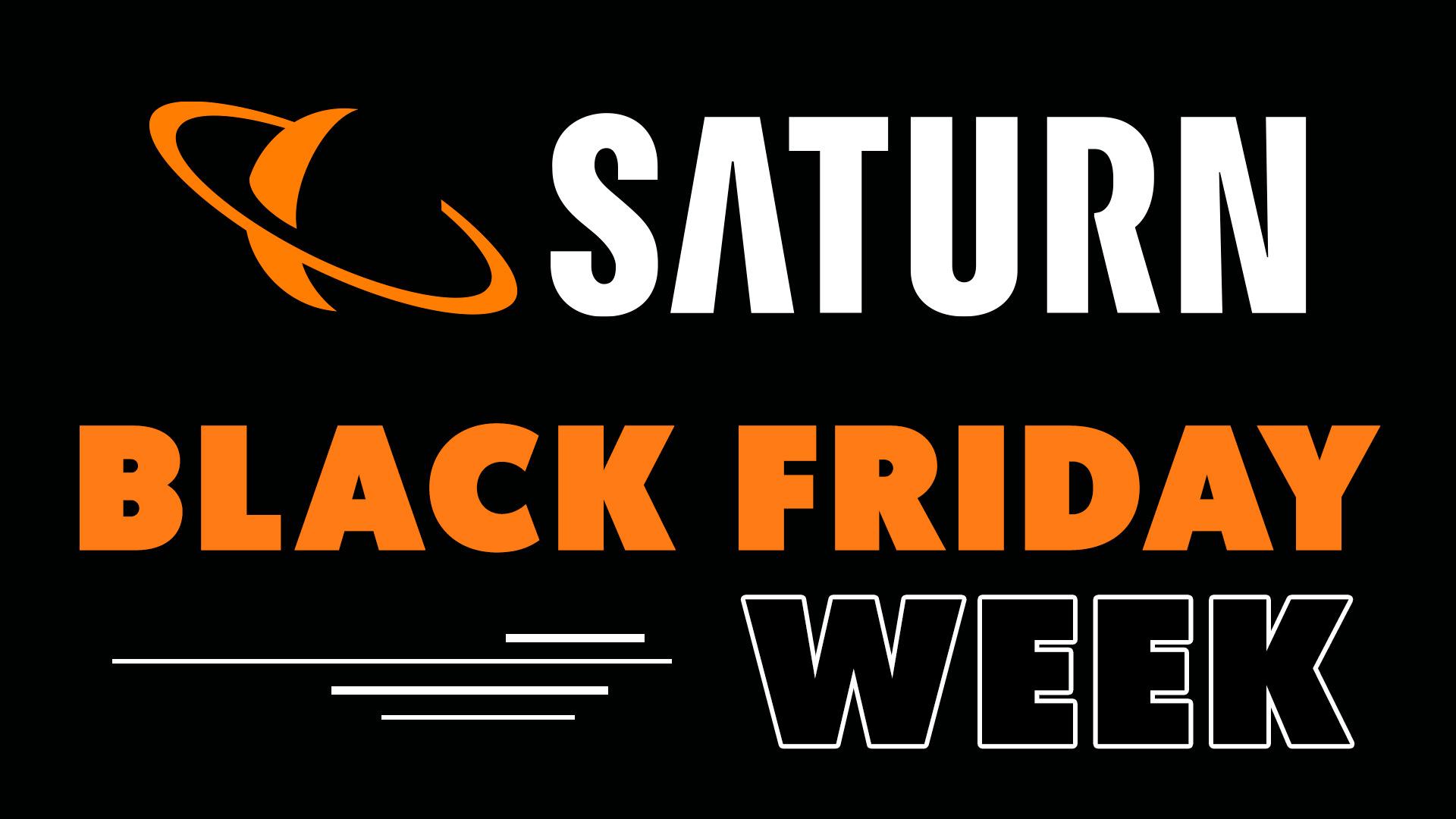 Saturn, Black Friday Woche, Saturn Shop, Black Friday Week, Saturn Logo