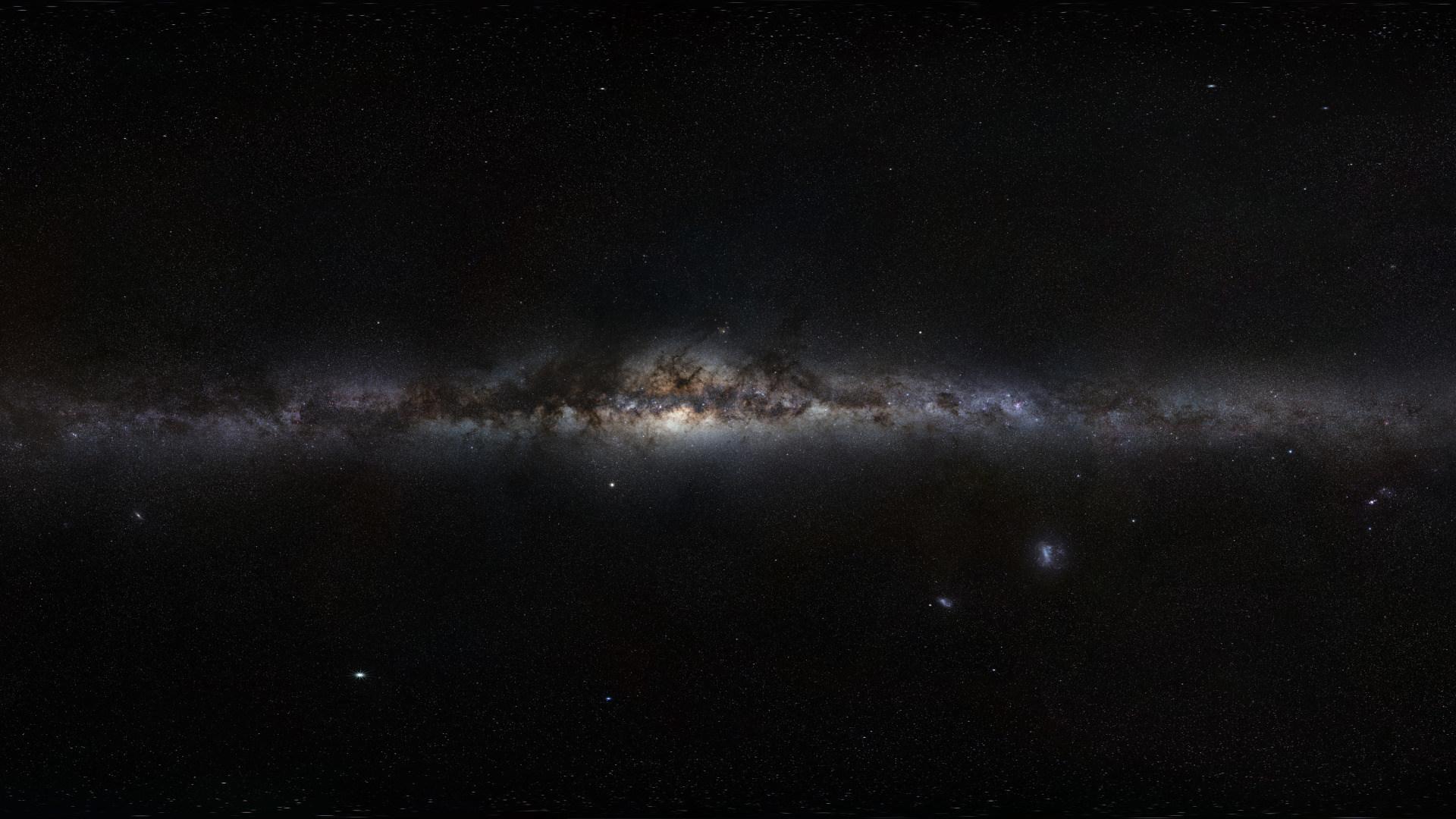 Weltraum, Milchstraße, Galaxie