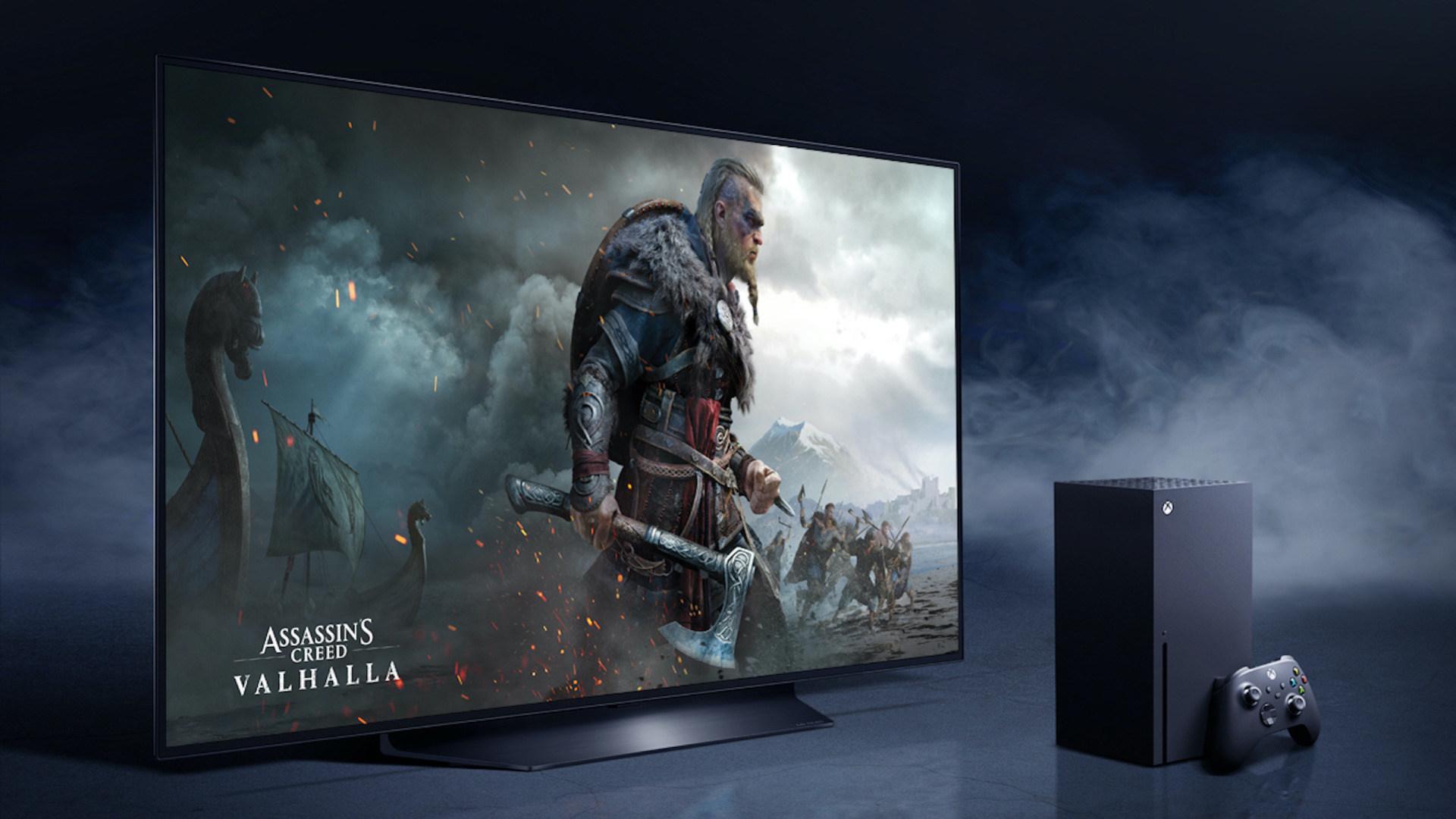 Konsole, Fernseher, Xbox Series X, Partner, LG OLED