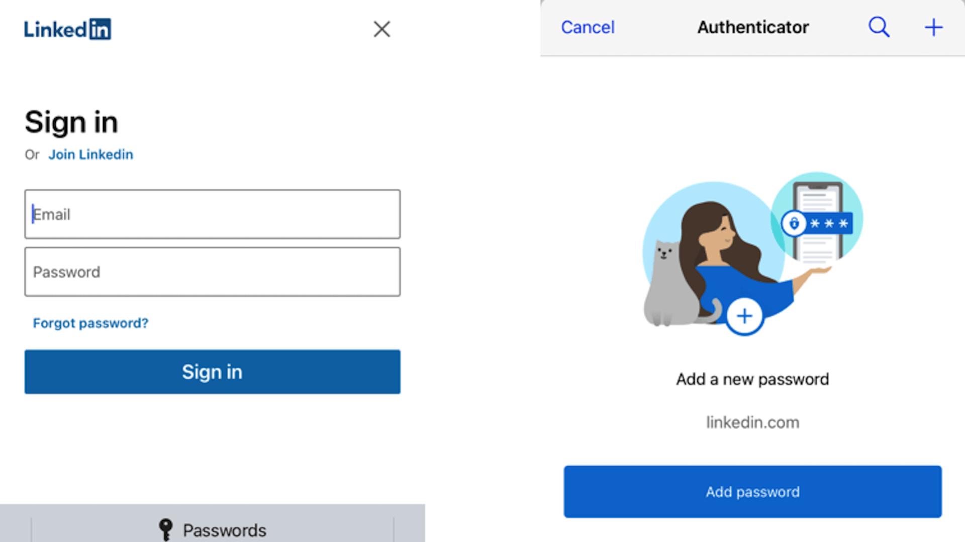 passwort, Passwortverwaltung, passwortmanager, Microsoft Authenticator, Autofill