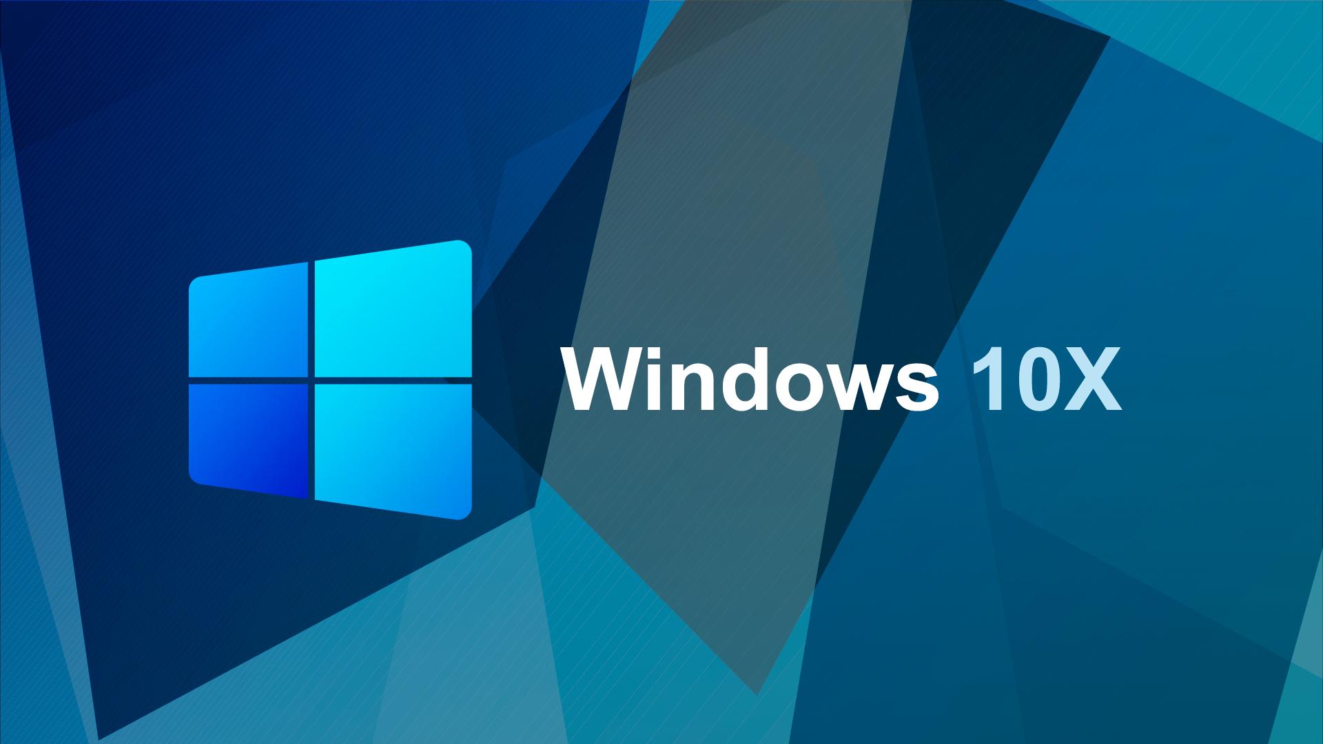 Microsoft, Windows 10, Windows Logo, Windows 10X, Windows On ARM, Windows 10 ARM, Windows 10 X, Windows 10X Logo, Microsoft Windows 10 X, Microsoft Windows 10X, Geometric Art Style