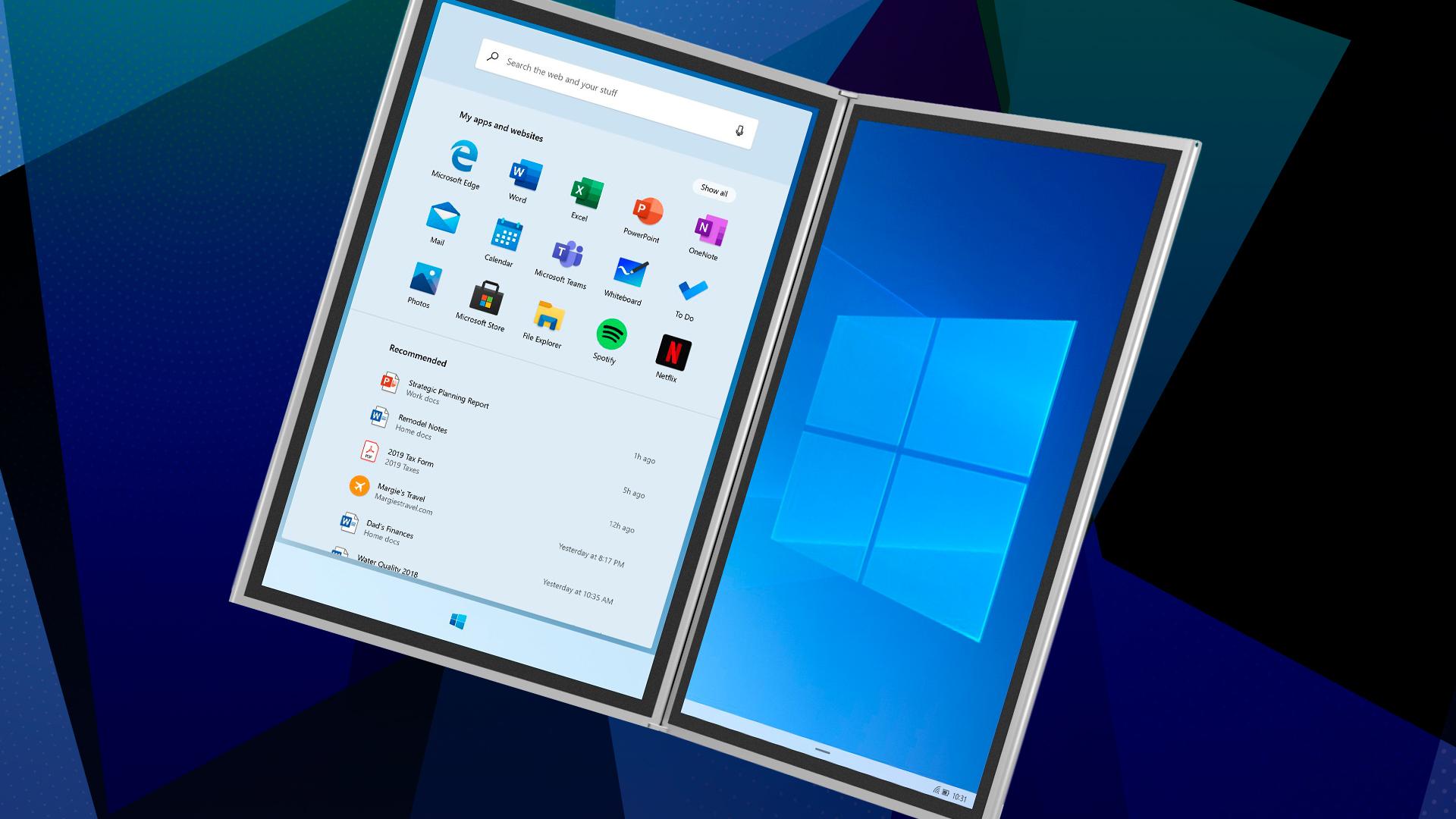 Microsoft, Windows 10, Tablet, Windows Logo, Windows 10X, Windows On ARM, Windows 10 ARM, Windows 10 X, Windows Tablet, Windows 10X Logo, Microsoft Windows 10 X, Microsoft Windows 10X, Tablet PC, Windows Desktop