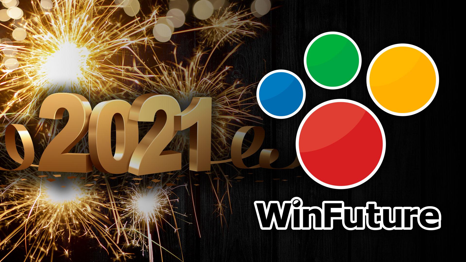 Winfuture, Weihnachten, Neujahr, 2020, Xmas, 2021, Christmas, WinFuture Logo