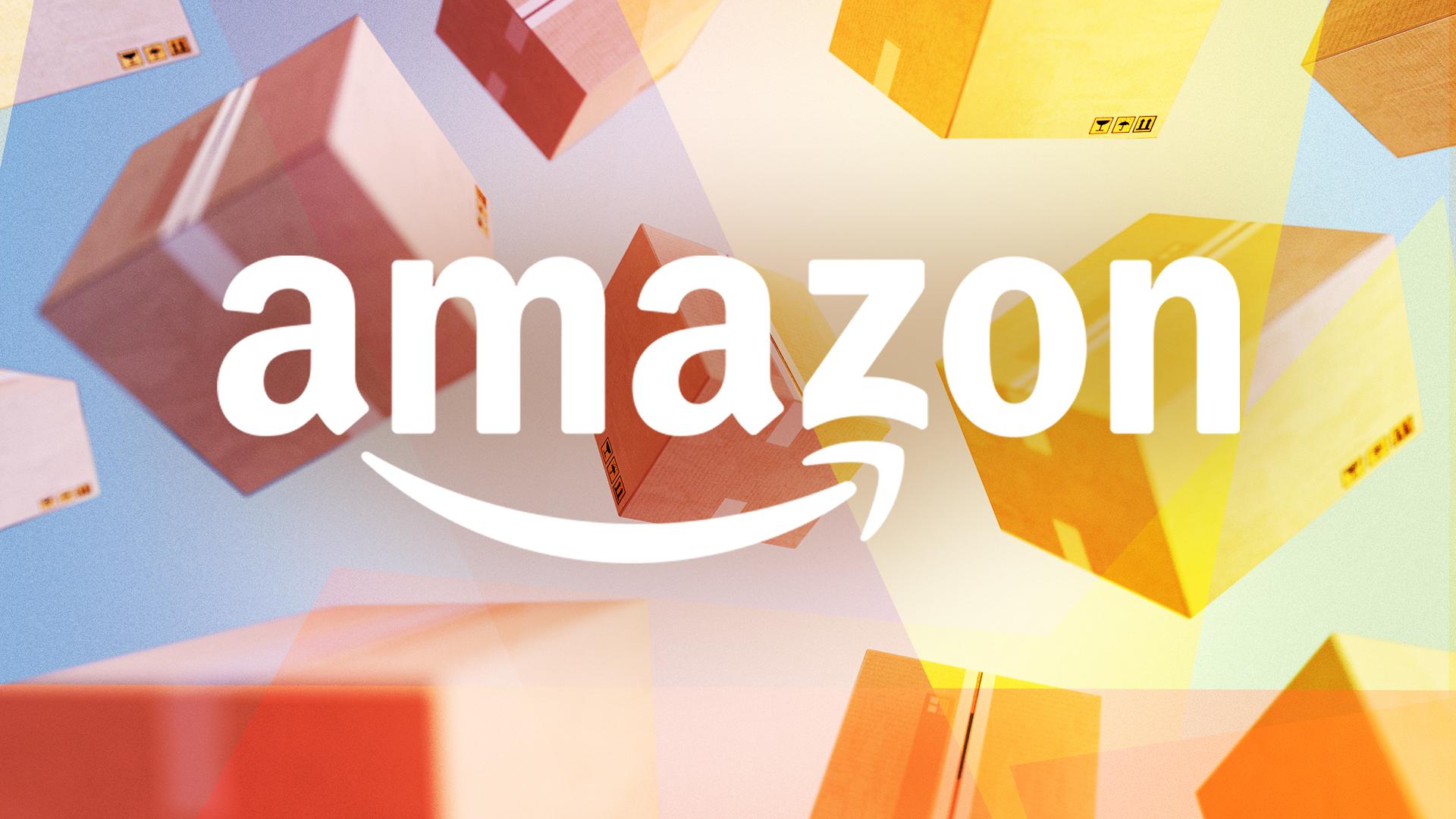 Amazon, E-Commerce, shopping, Paket, Pakete, Box, Amazon Logo, Paketdienst, Paketzusteller