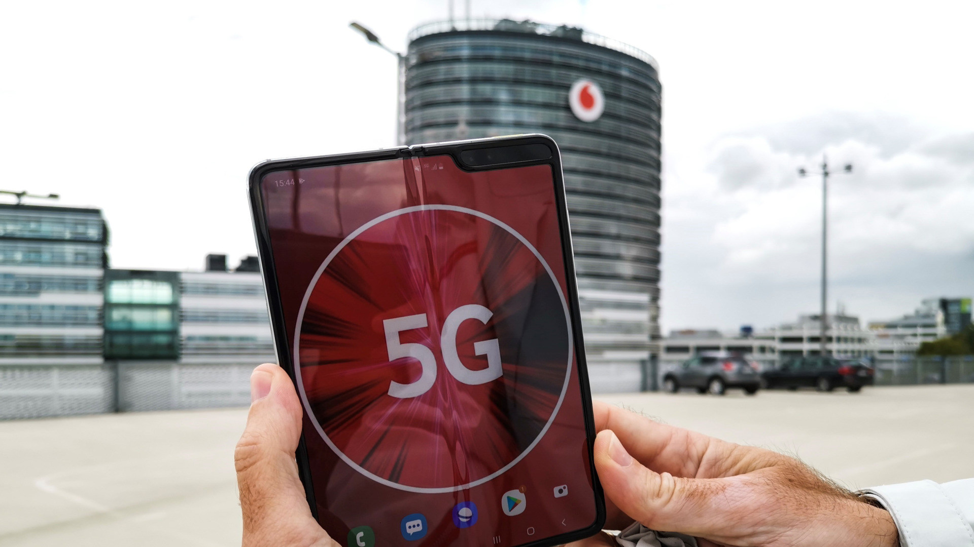 Smartphone, Mobilfunk, 5G, Vodafone, Tarif, 5G-Netz