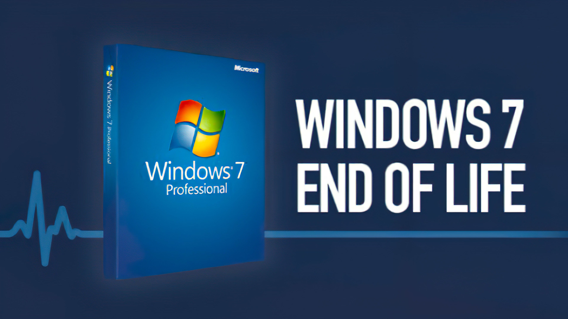 Microsoft, Betriebssystem, Windows 7, Software, Support, EOL, End Of Life