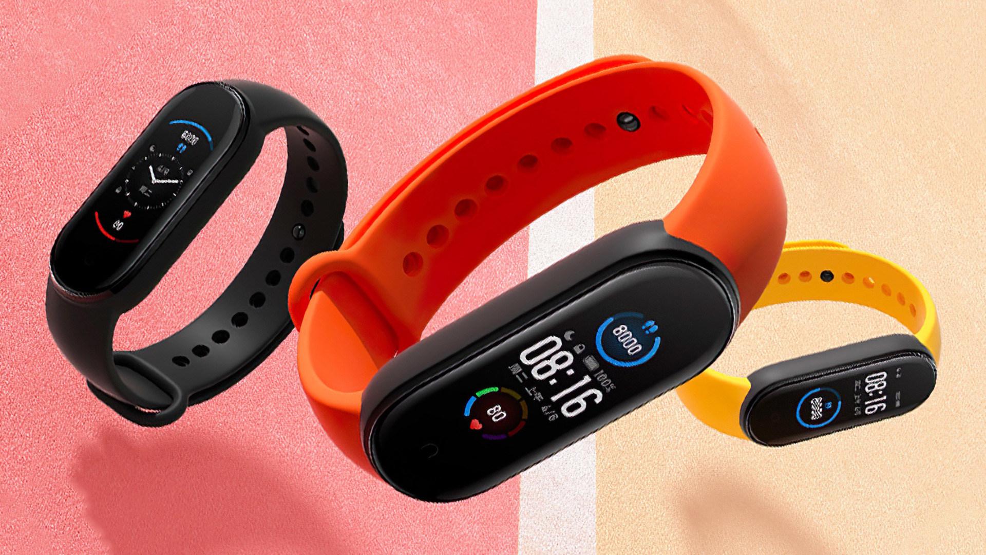 smartwatch, Xiaomi, Uhr, Wearables, Fitness-Tracker, Fitness, Fitnesstracker, Fitness-Band, Xiaomi Mi Band 5