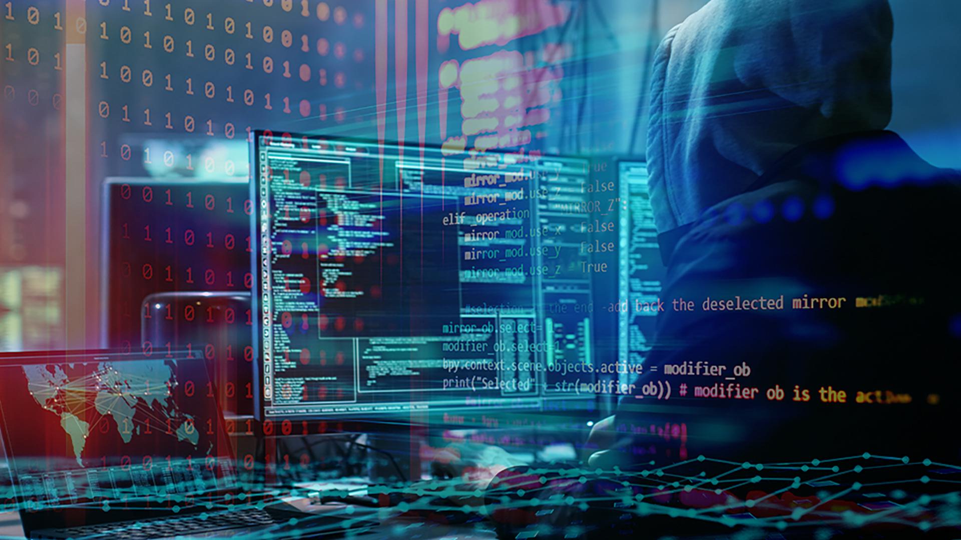 Internet, Sicherheit, Sicherheitslücke, Hacker, Security, Hack, Angriff, Entwickler, Virus, Kriminalität, Hacking, Cybersecurity, Internetkriminalität, Code, Quellcode, Programmierung, Darknet, Programmierer, Hacker Angriffe, Ransom, Programmieren, Coder, Console