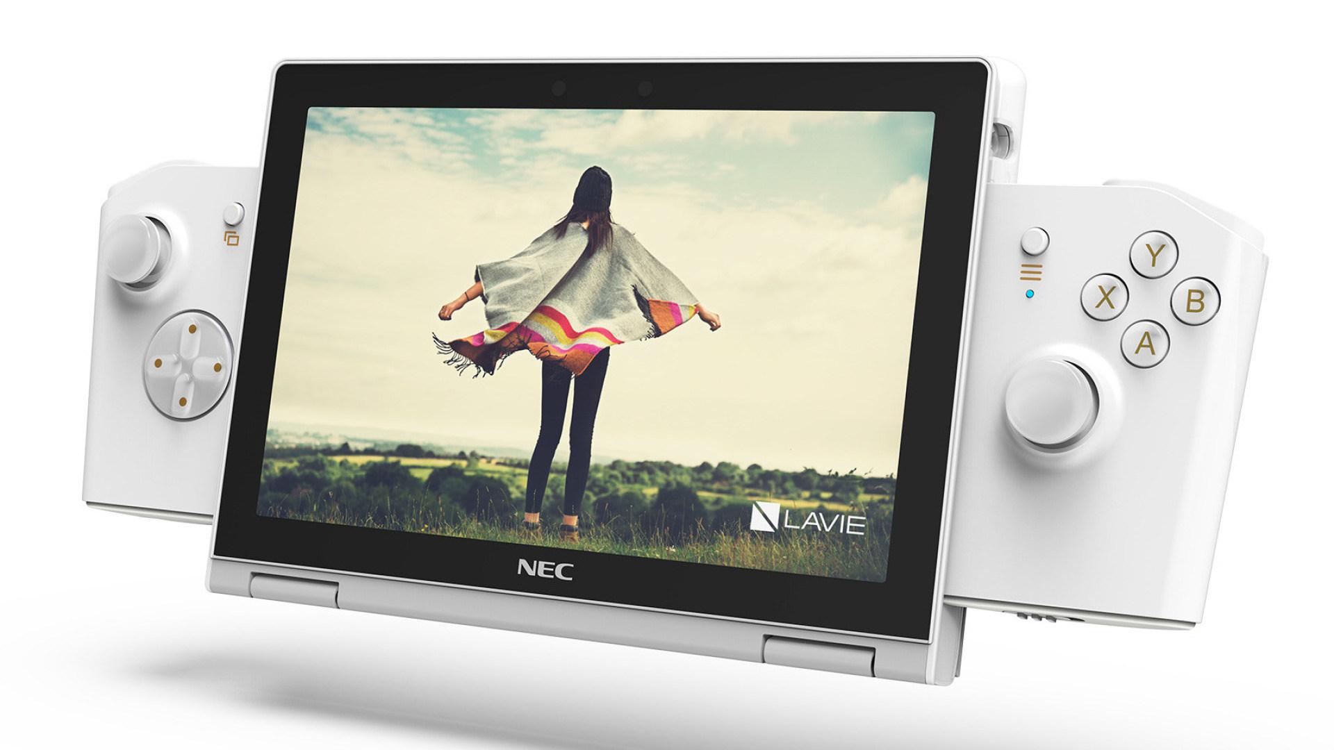 Gaming, Spielkonsole, Pc, Notebook, Laptop, Lenovo, Konzept, Netbook, NEC Lavie Mini