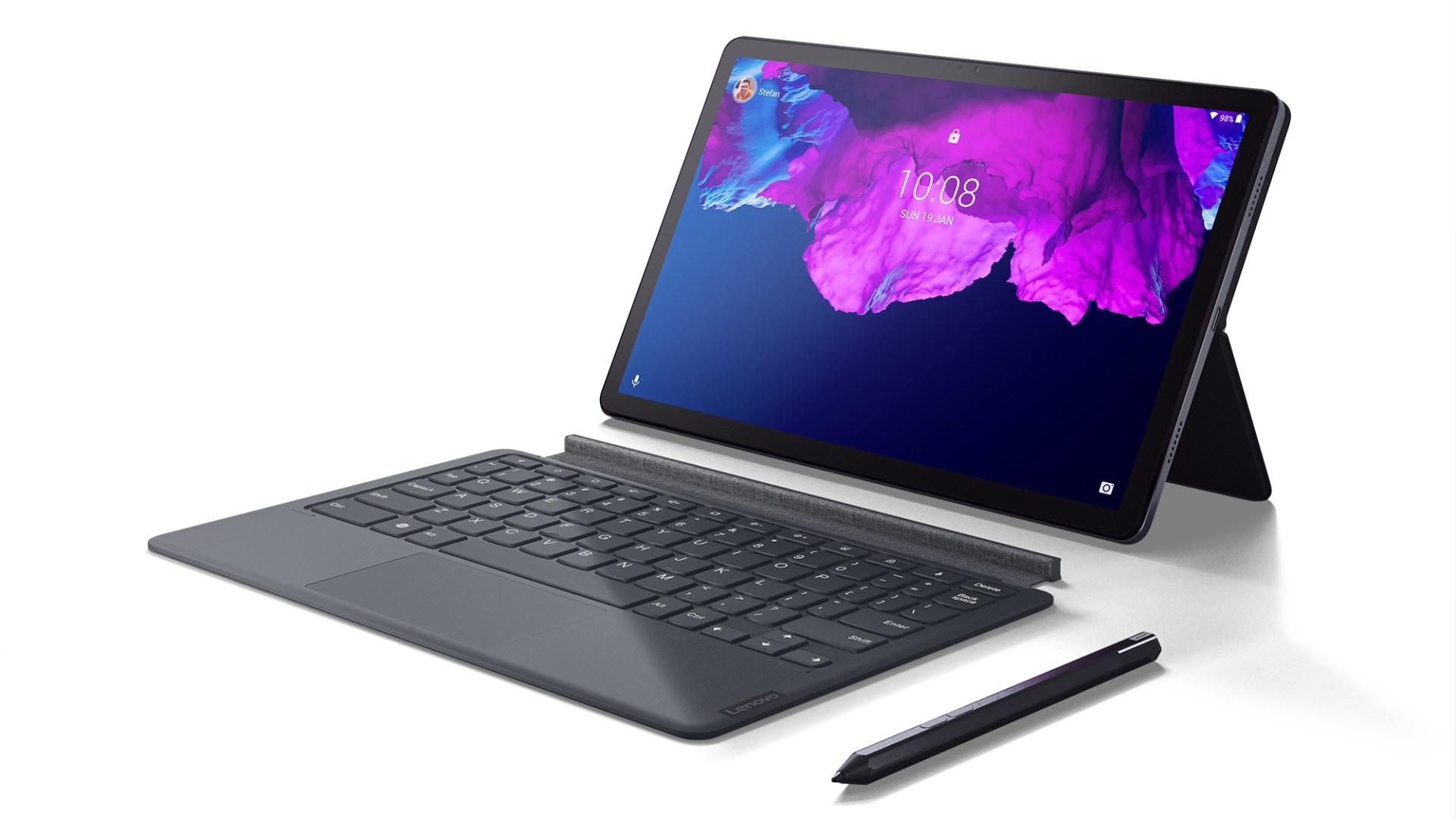 Tablet, Lenovo, Tastatur, Stylus, Stift, Lenovo Tab P11, Surface-Klon