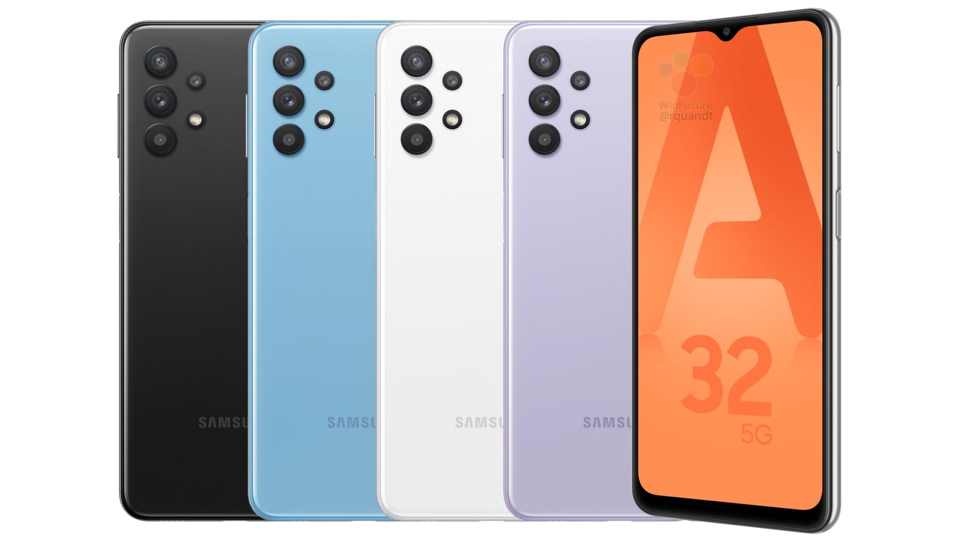 Smartphone, Samsung, Leak, Galaxy, 5G, Samsung Galaxy A32, Samsung Galaxy A32 5G