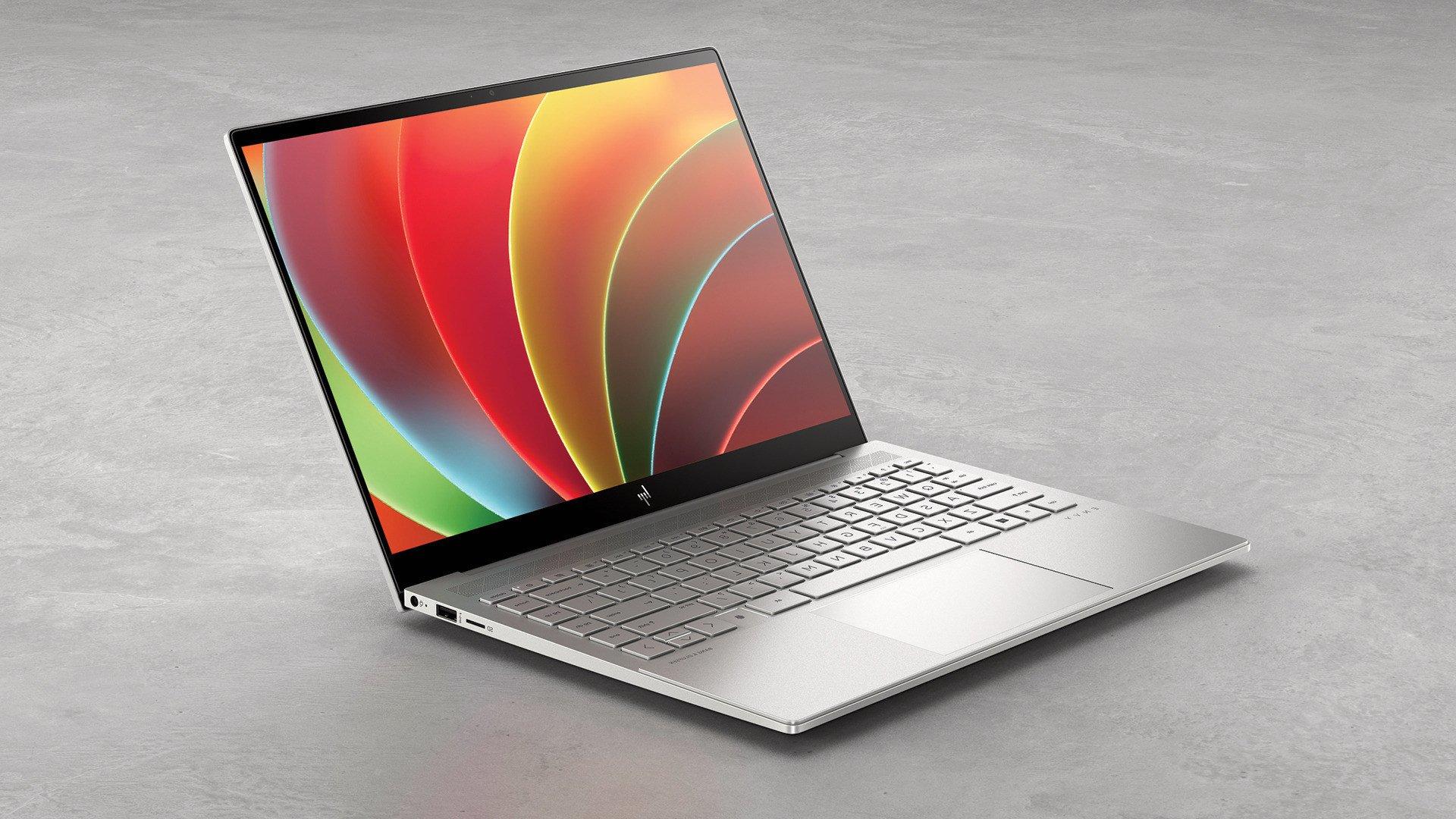 Notebooks, Laptops, Hewlett Packard, Ces 2021, HP Envy 14