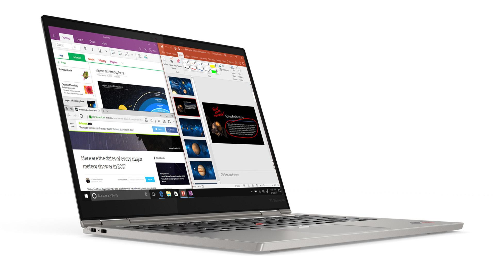 Lenovo, 2-in-1, Notebooks, Convertible, Laptops, Ces 2021, Business-Notebook, ThinkPad X1 Titanium Yoga, Office-Laptop